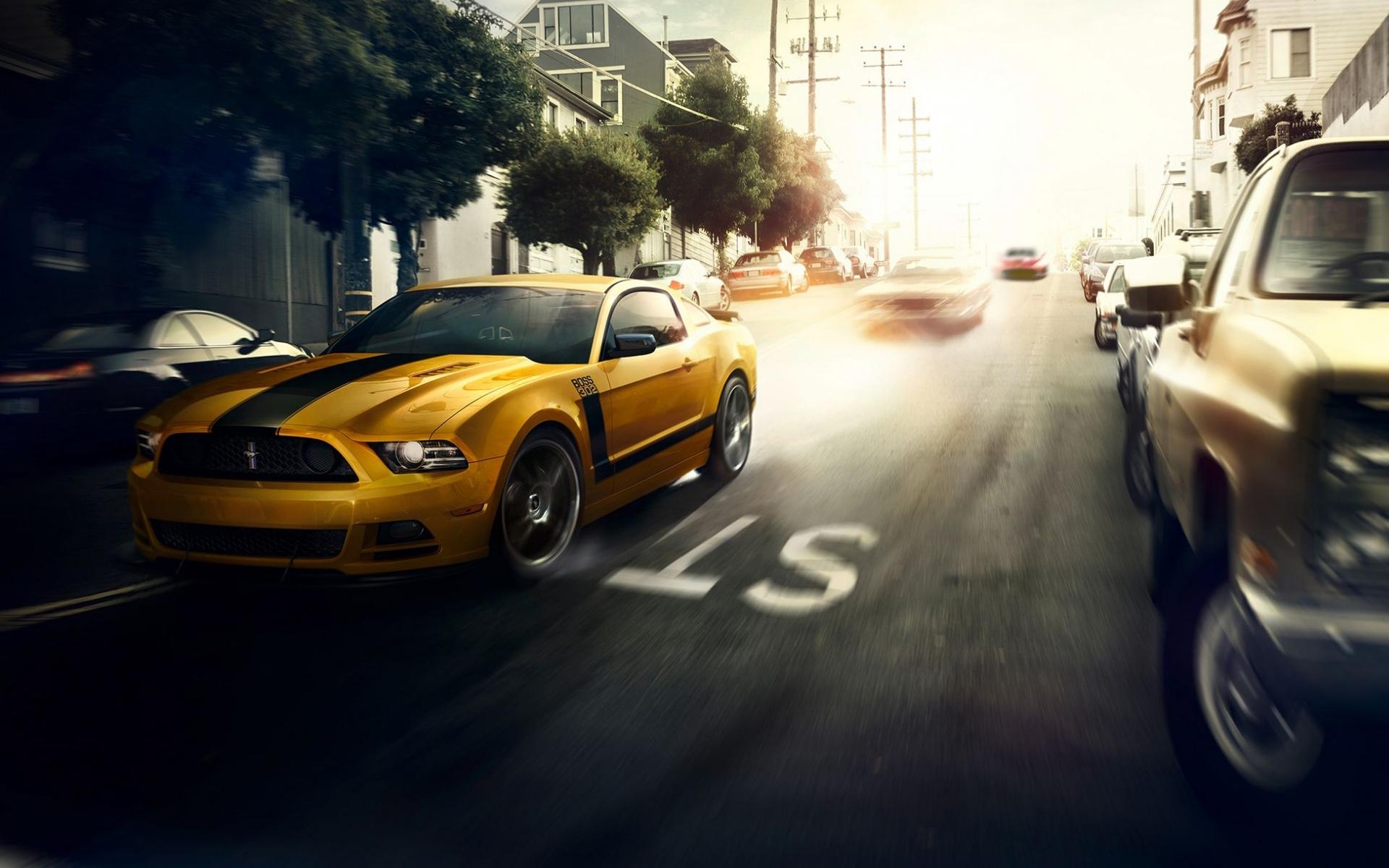 Ford Mustang Boss 302 Wallpaper HD Car Wallpapers