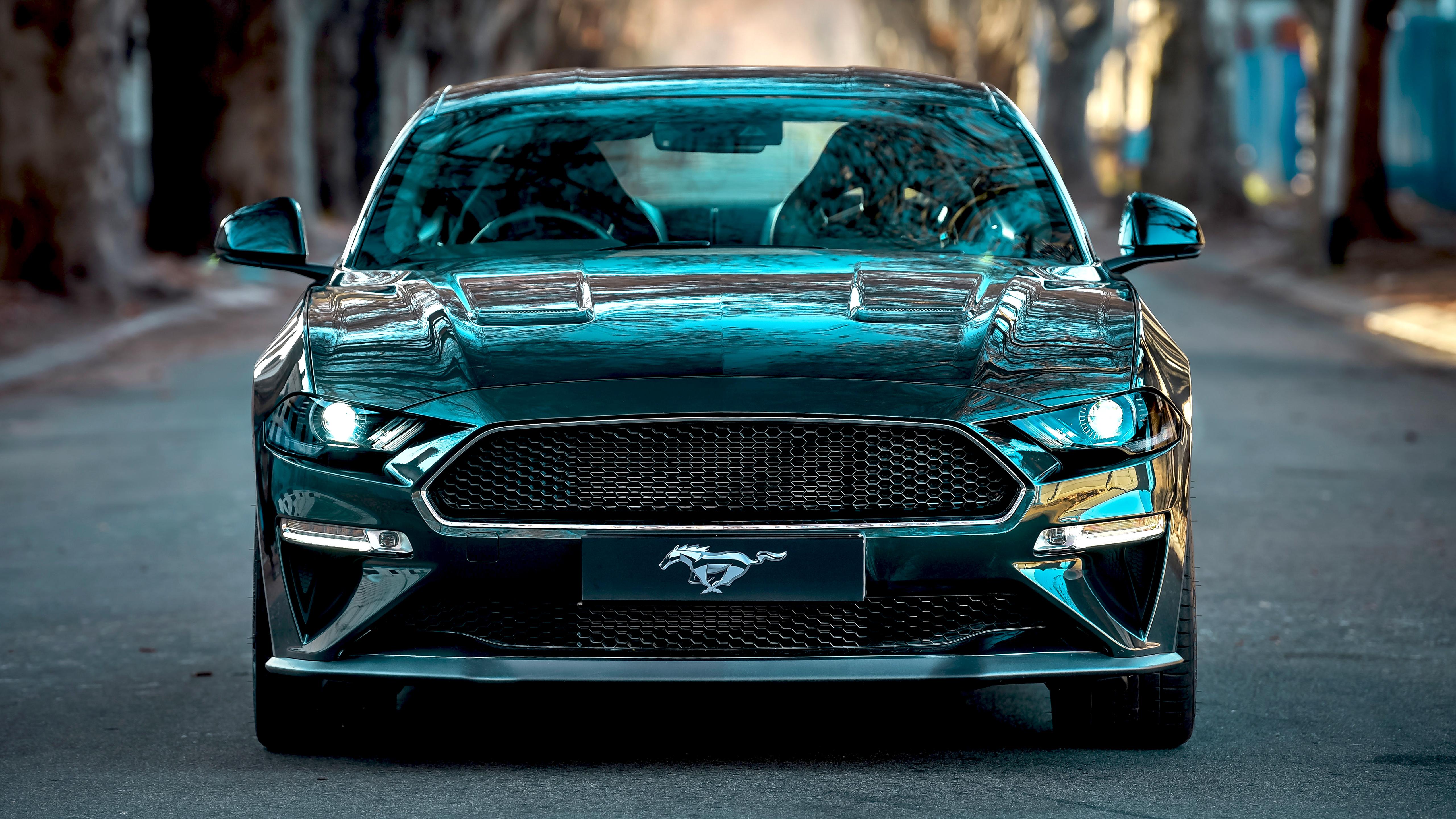 Ford Mustang Bullitt 2019 4k 3 Wallpaper Hd Car Wallpapers Id 12962