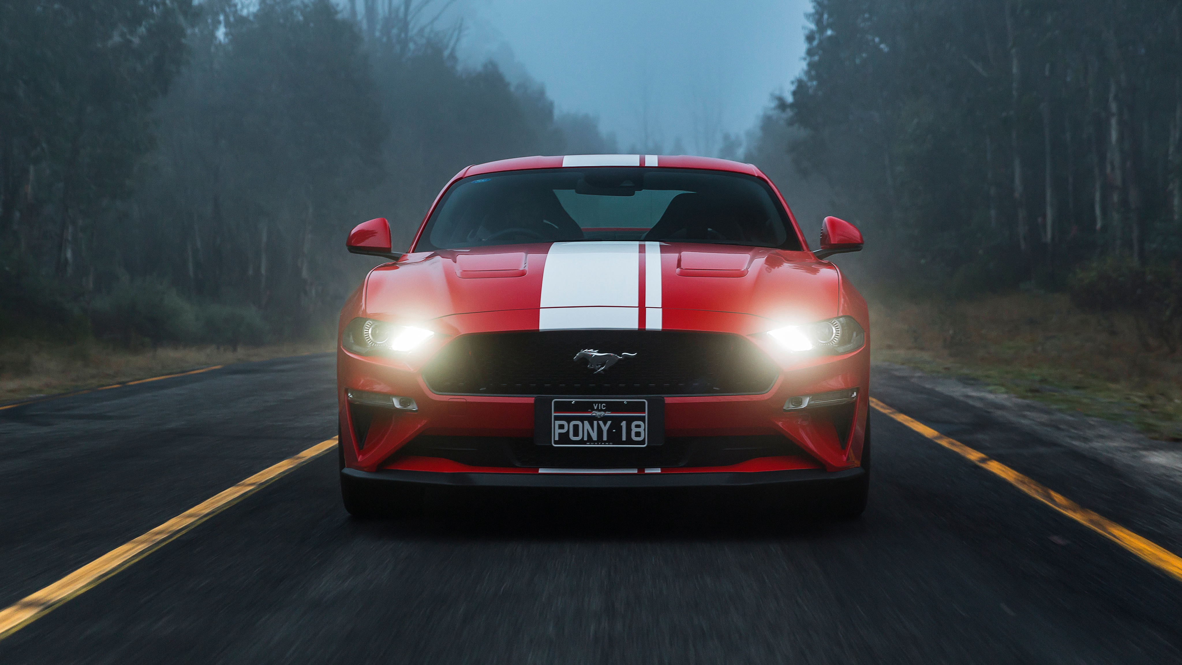 Ford Mustang GT Fastback 2018 4K 2