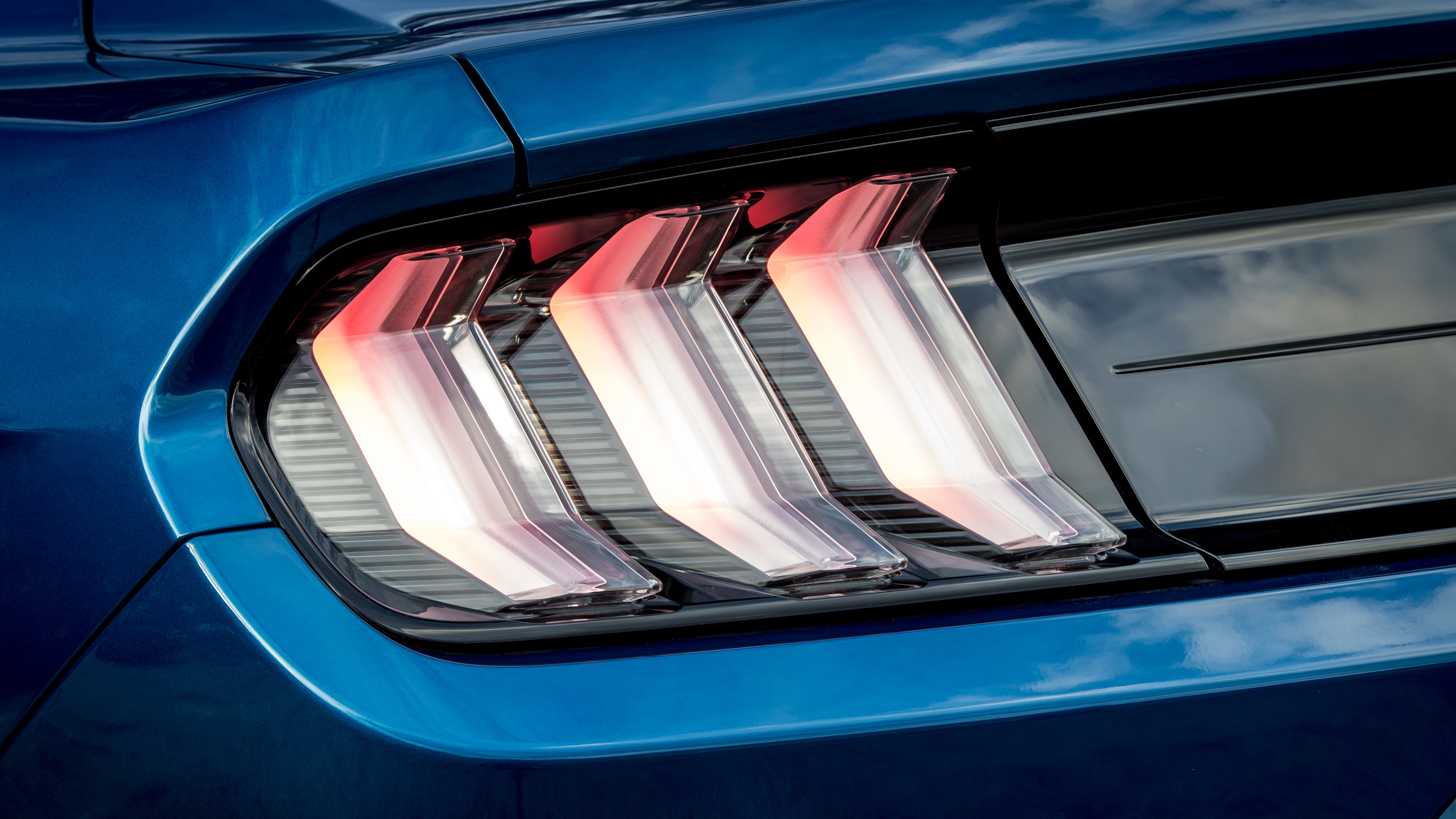 Ford Mustang Led Tail Lights 4k Wallpaper Hd Car Wallpapers Id 10079