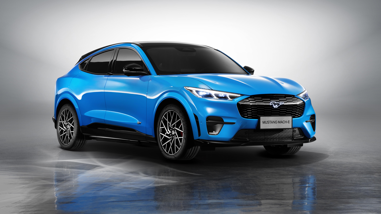 Ford Mustang Mach E Gt 2021 5k 2 Wallpaper Hd Car Wallpapers Id 17133 2021 ford mustang mach e 5k wallpaper