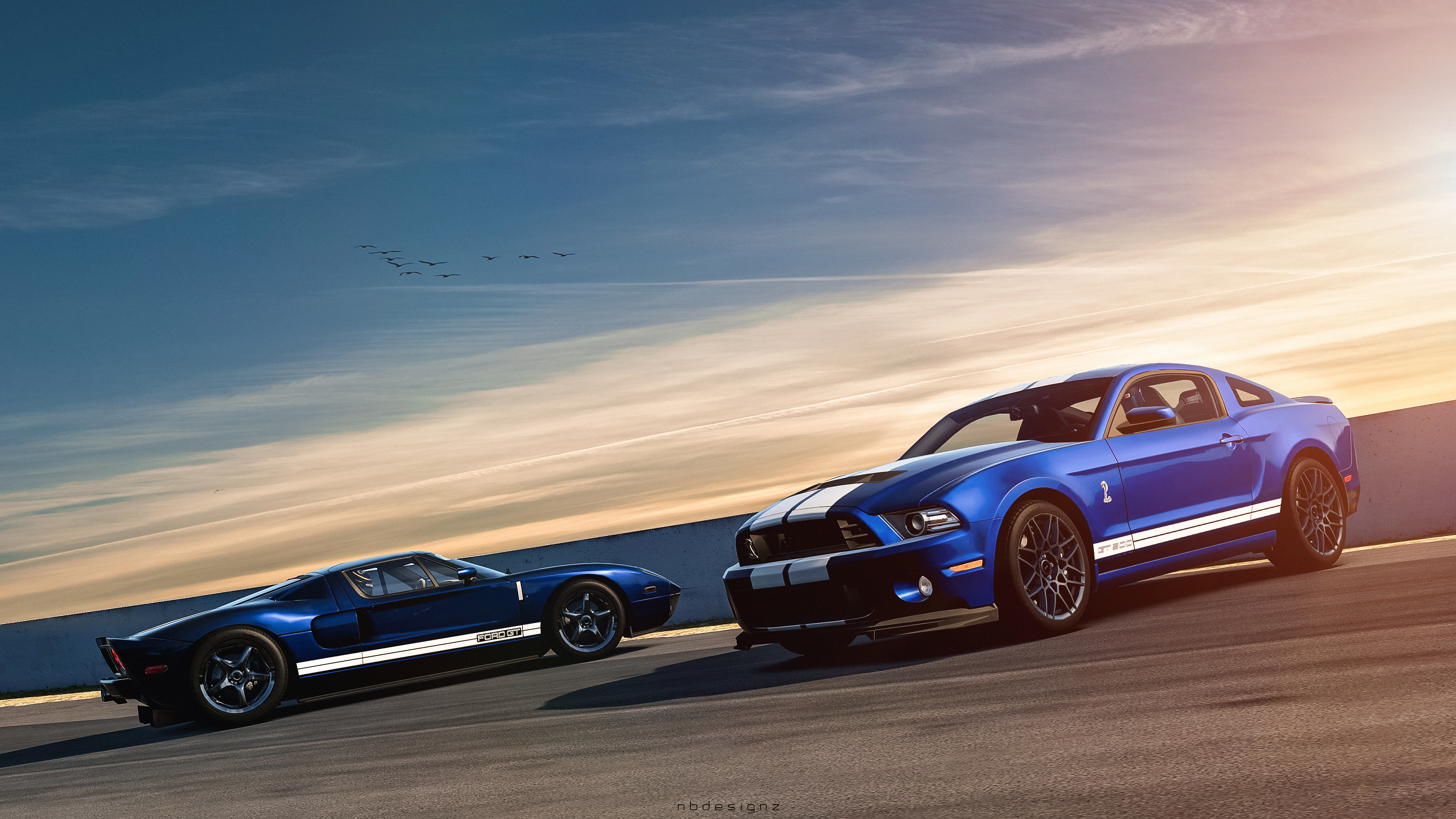 Ford Mustang Shelby GT500 Ford GT Wallpaper | HD Car ...