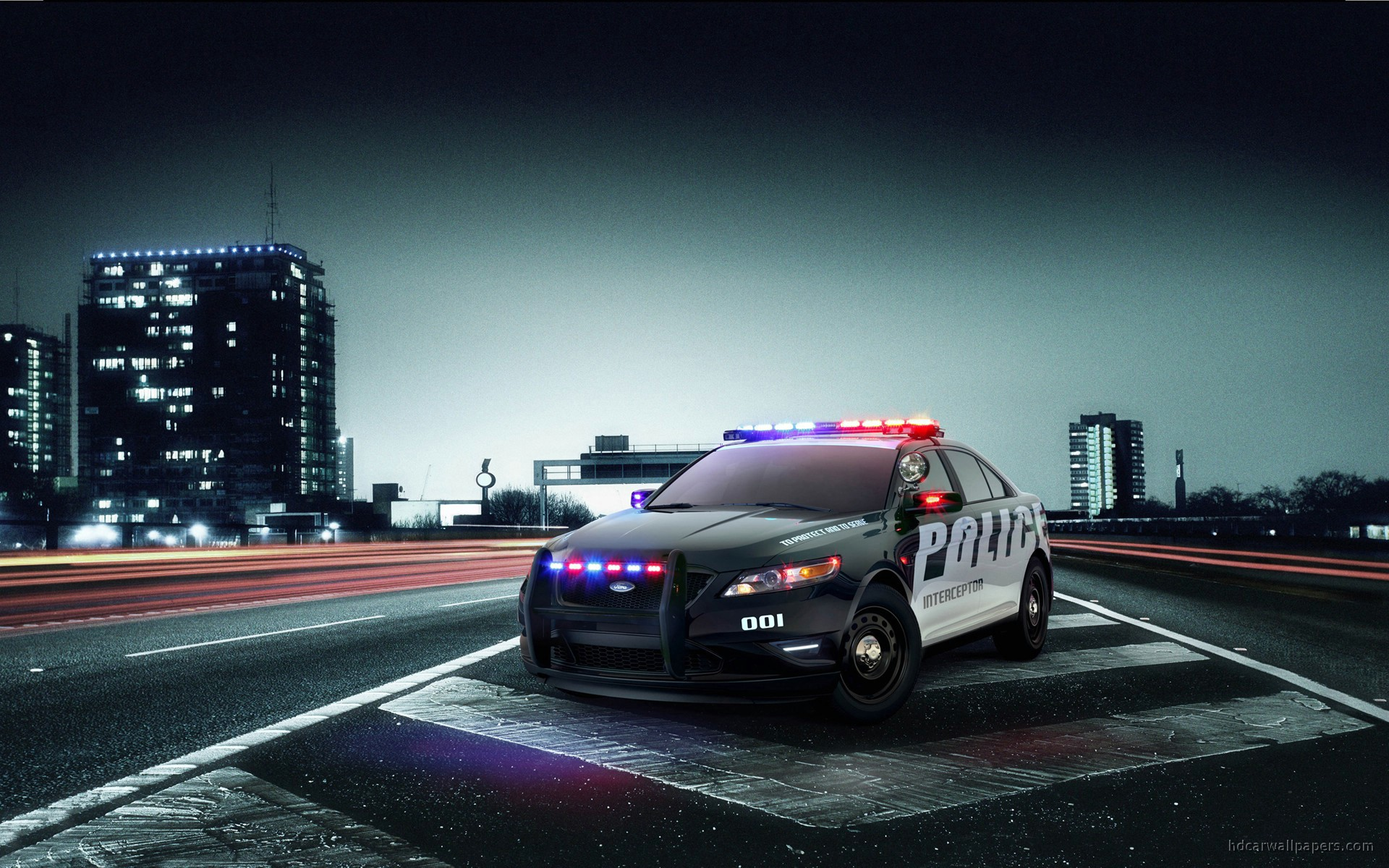 Ford Police Interceptor Wallpaper | HD Car Wallpapers | ID #685
