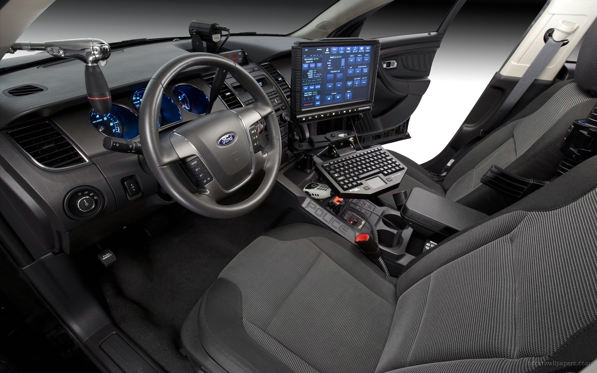 ford police interceptor interior wallpaper hd car wallpapers id 664. Black Bedroom Furniture Sets. Home Design Ideas