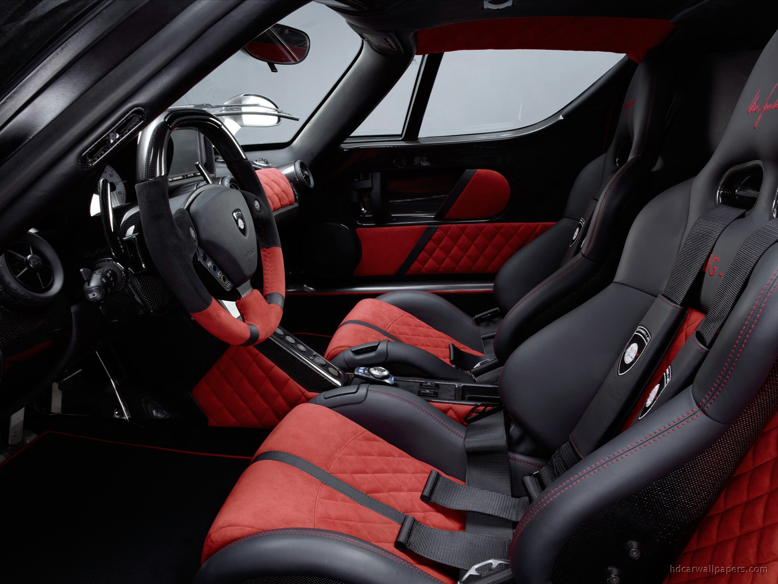 gemballa mig u1 ferrari enzo interior wallpaper hd car wallpapers id 1002. Black Bedroom Furniture Sets. Home Design Ideas