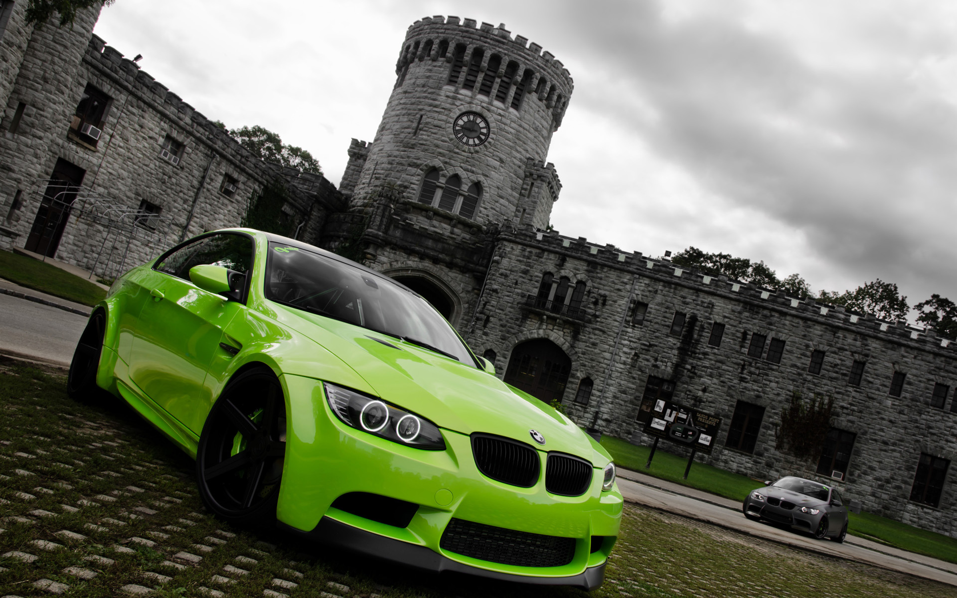 Car Wallpapers Backgrounds Hd: Green BMW M3 Wallpaper