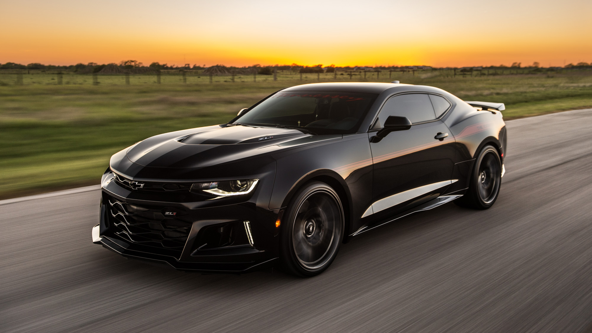 Hennessey Chevrolet Camaro Zl1 Hpe1000 The Exorcist Wallpaper Hd Car Wallpapers Id 10907