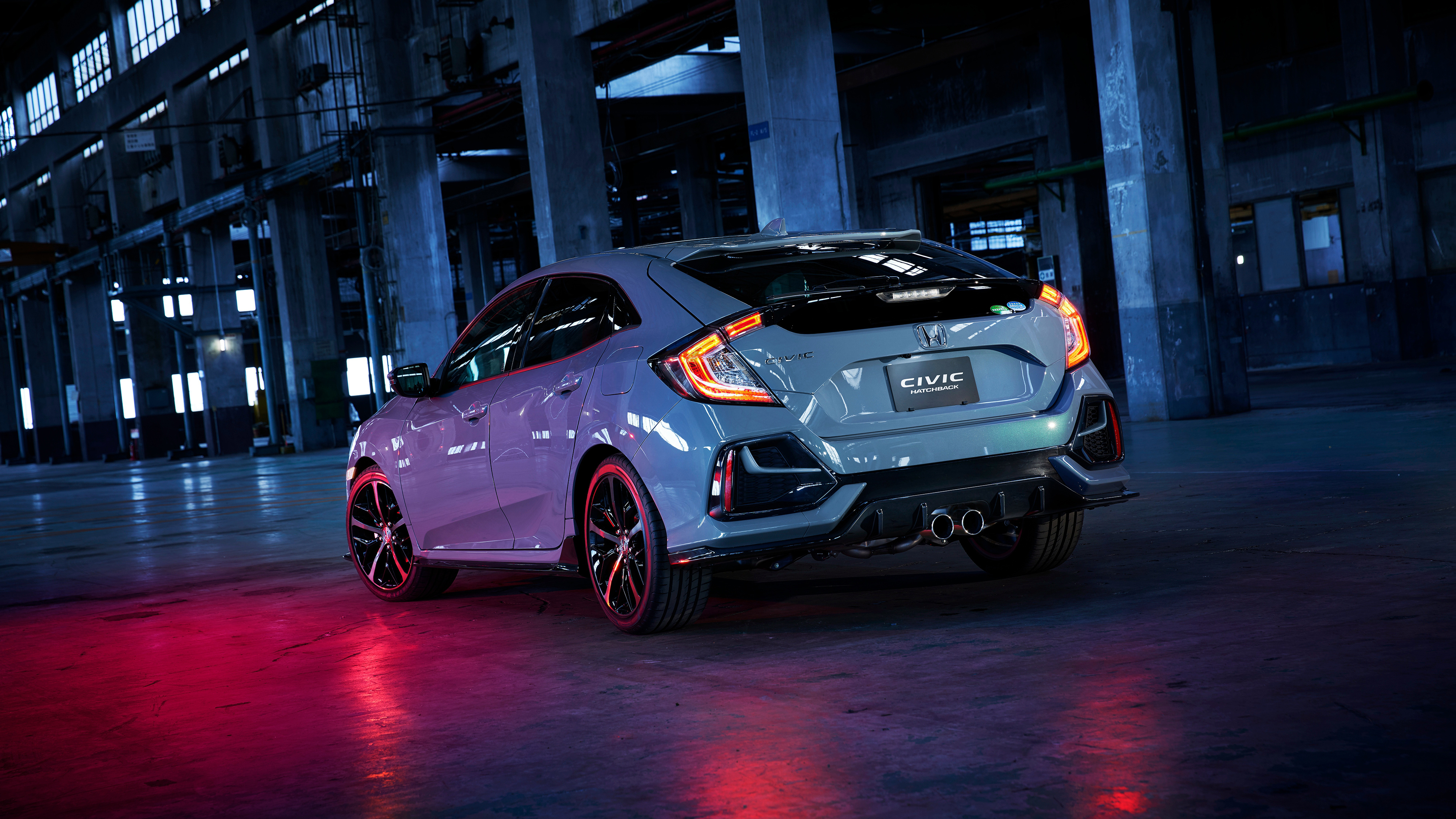 Honda Civic Hatchback 2019 4K Wallpaper   HD Car ...