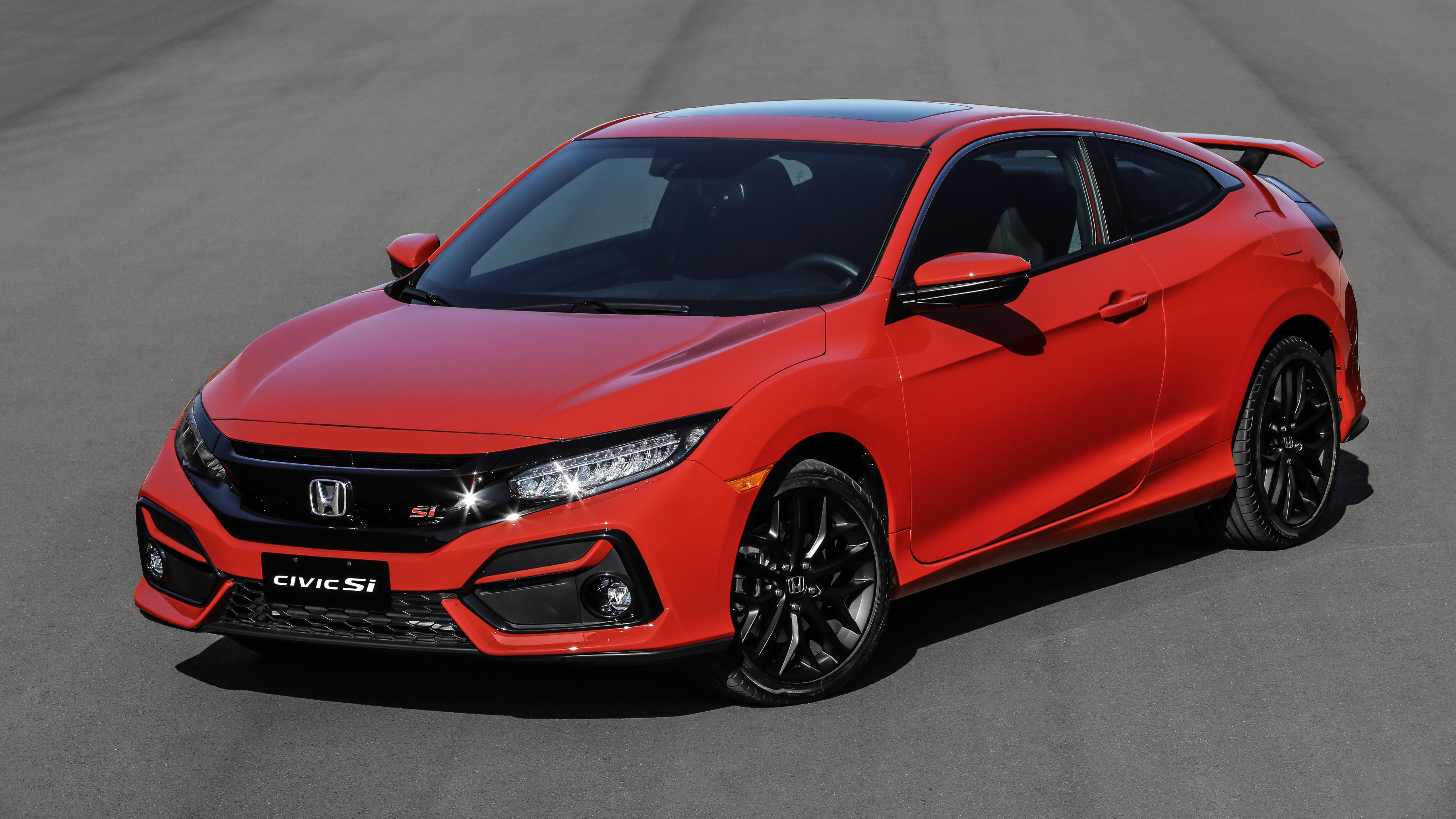 Honda Civic Si Coupe 2020 5k Wallpaper Hd Car Wallpapers Id 15217
