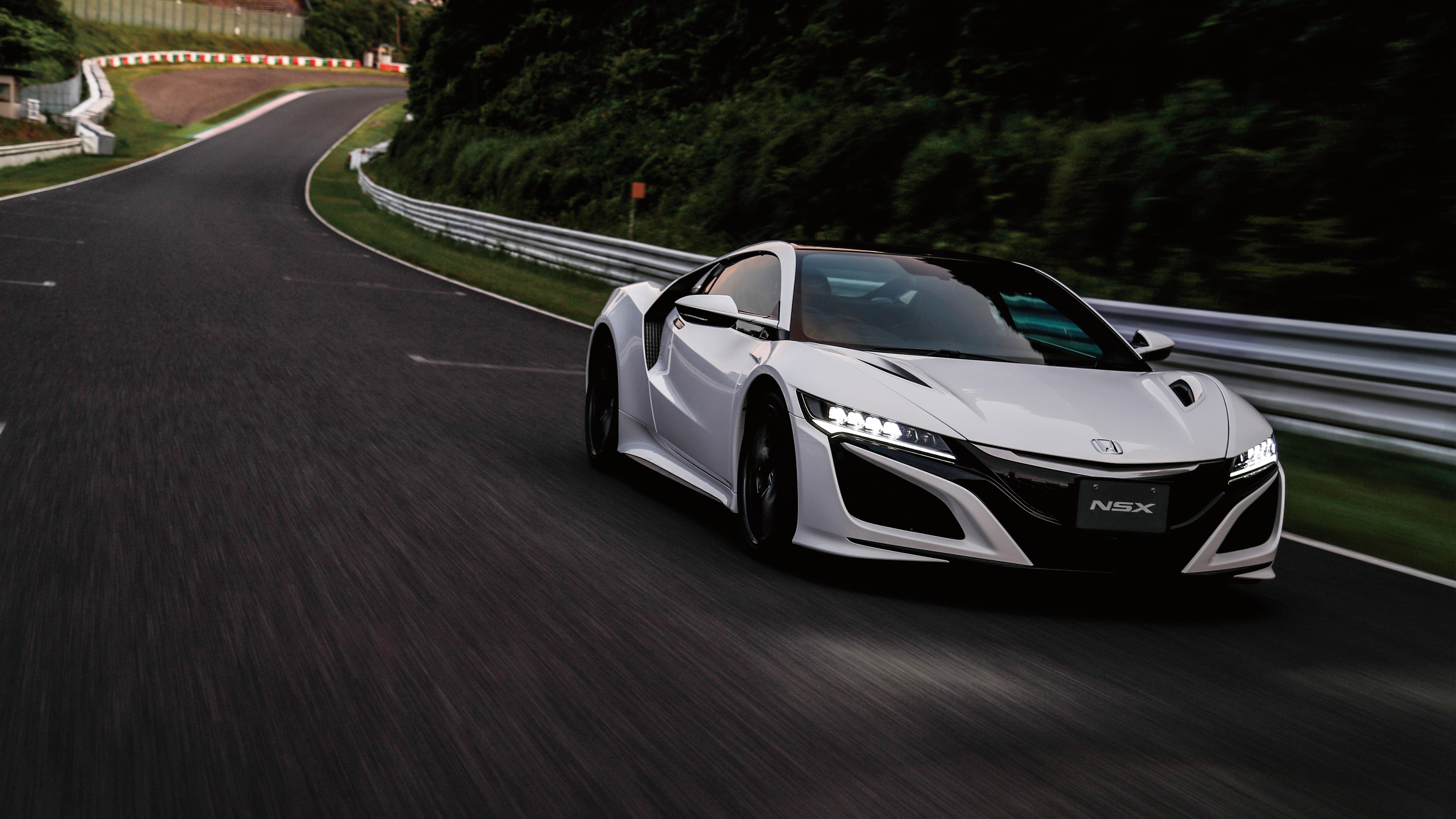 Honda NSX 4K Supercar Wallpaper