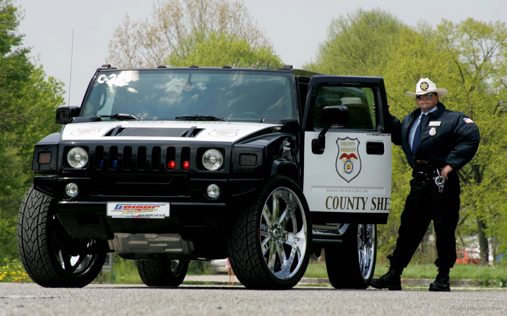 hummer police car wallpaper hd car wallpapers id 602