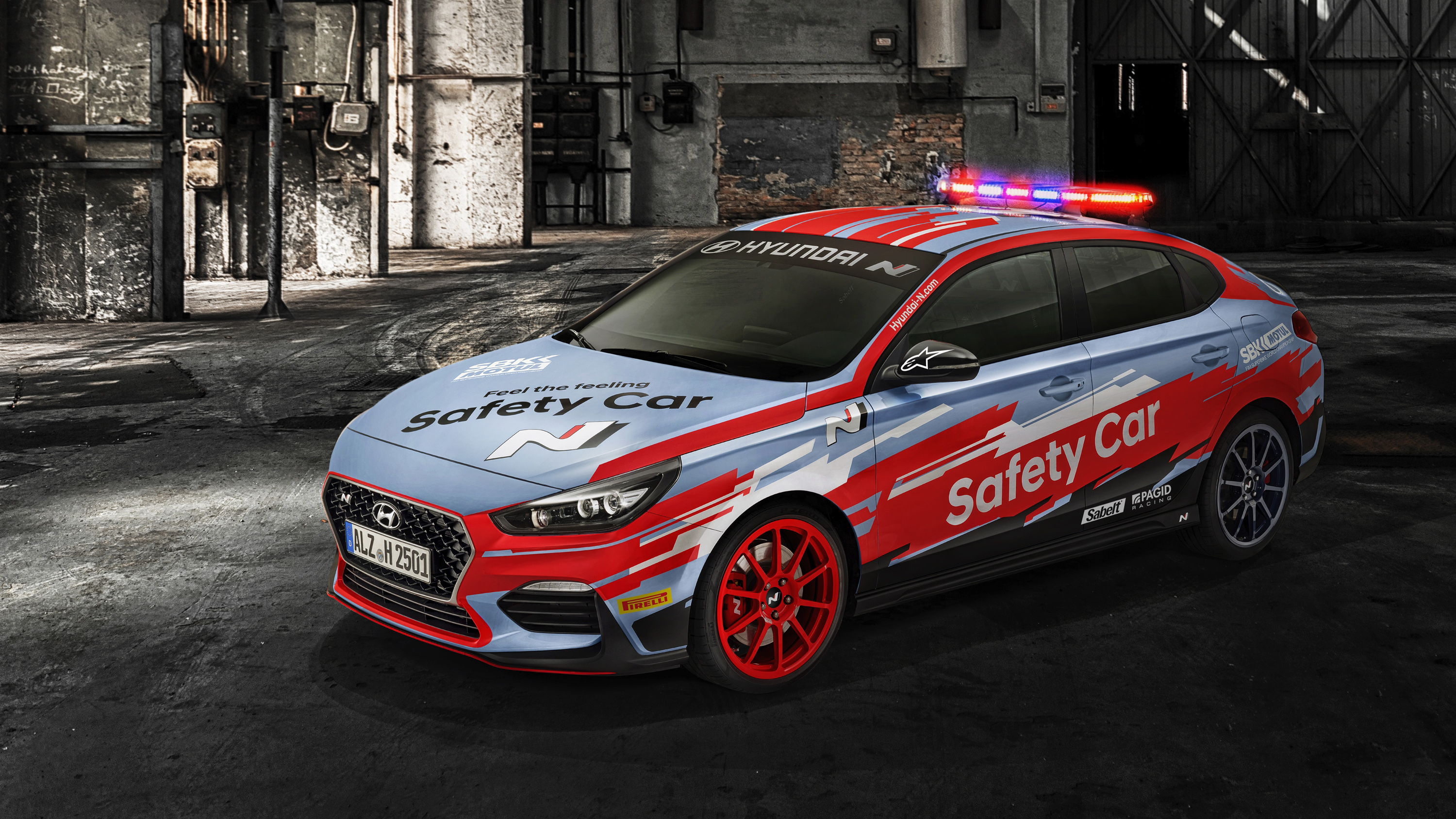 hyundai i30 fastback n sbk safety car 2019 wallpaper hd. Black Bedroom Furniture Sets. Home Design Ideas