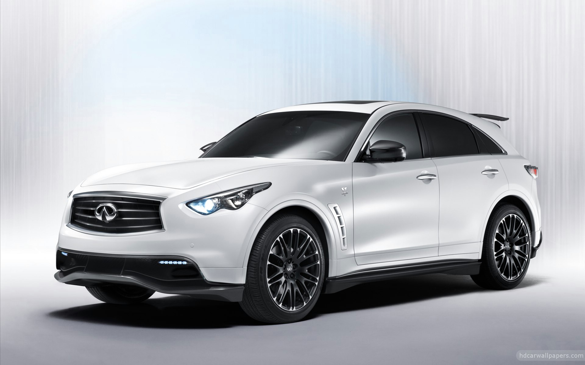 A Special Crossover Premiering At The 2011 Frankfurt Motor Show, The Infiniti  FX Sebastian Vettel Version Is A Racing Inspired Utility.