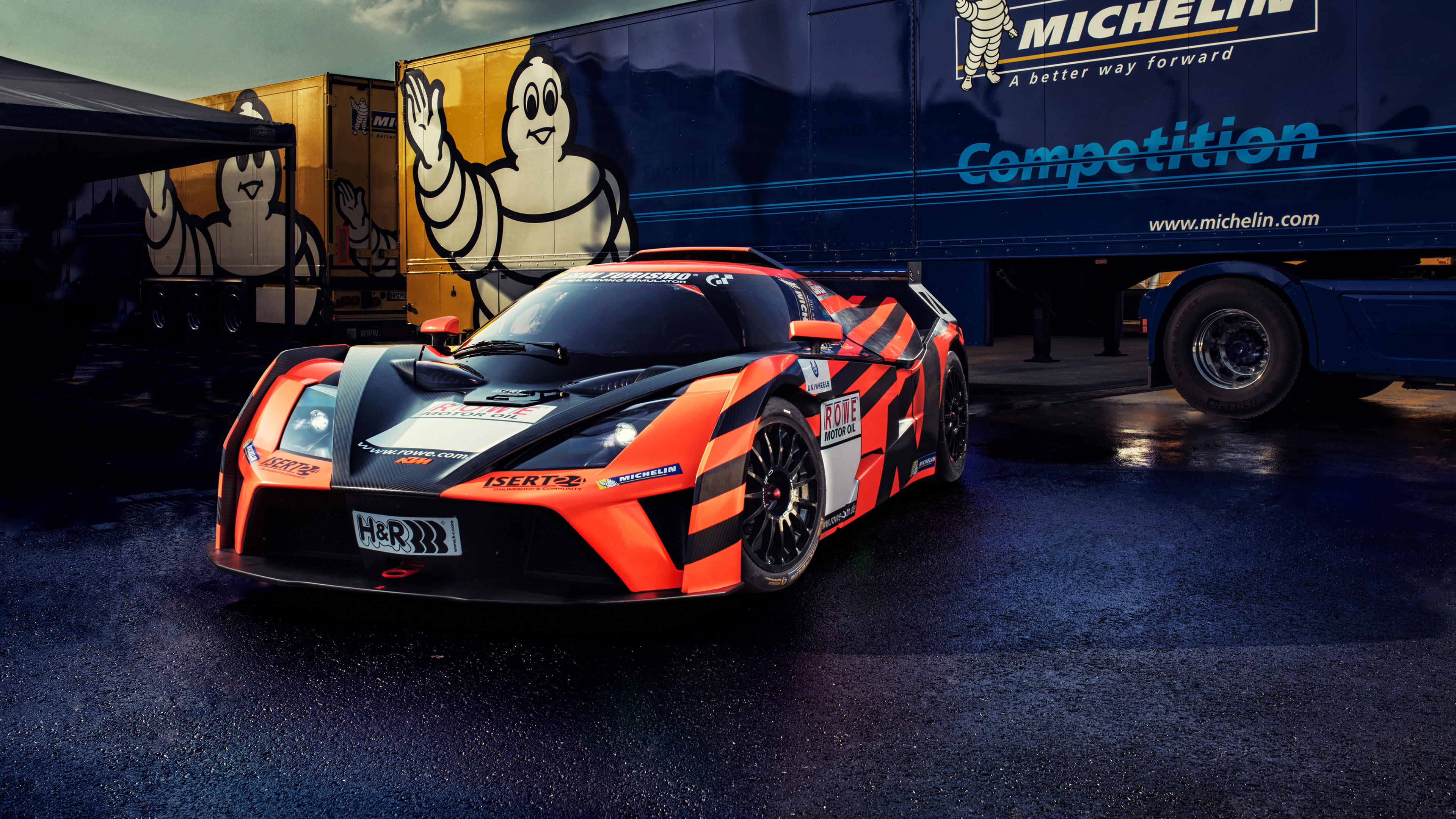 Isert Motorsport KTM X BOW GT4 4K Wallpaper