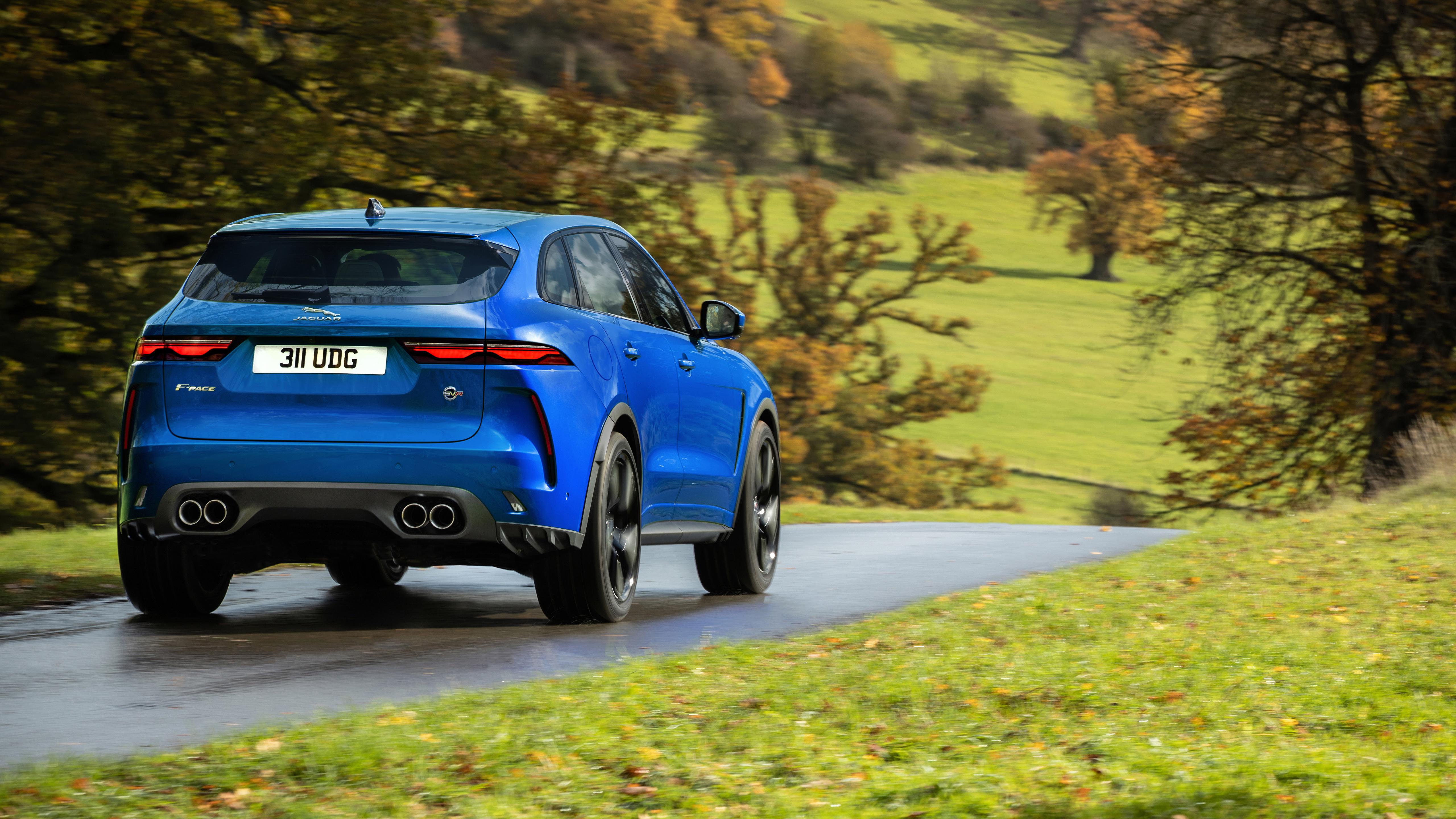 Jaguar F Pace Svr 2021 5k 2 Wallpaper Hd Car Wallpapers Id 16673