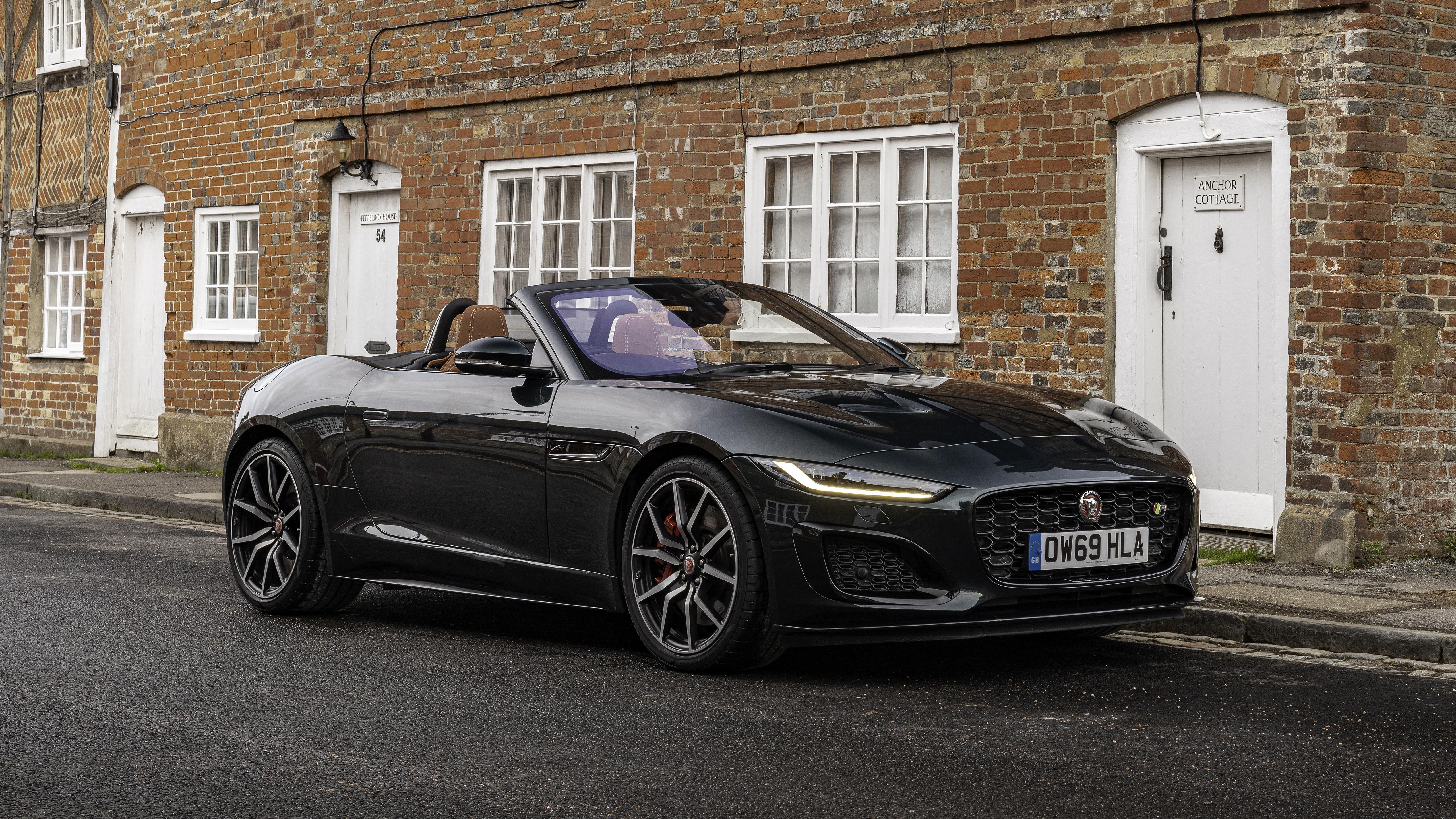 Jaguar F Type R Convertible 2021 5k Wallpaper Hd Car Wallpapers Id 17245