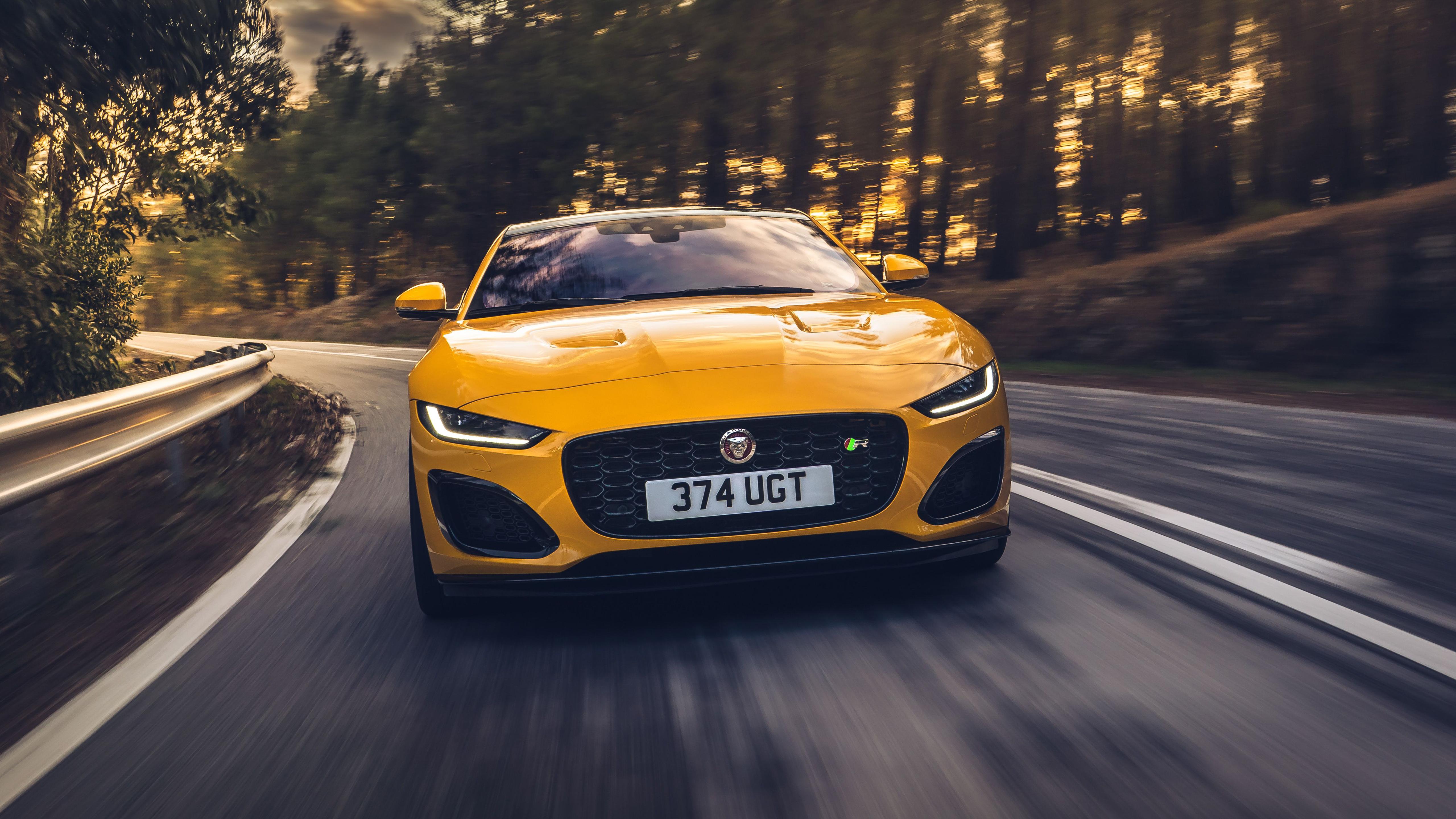 Jaguar F Type R Coupe 2020 5k 2 Wallpaper Hd Car Wallpapers Id 14247