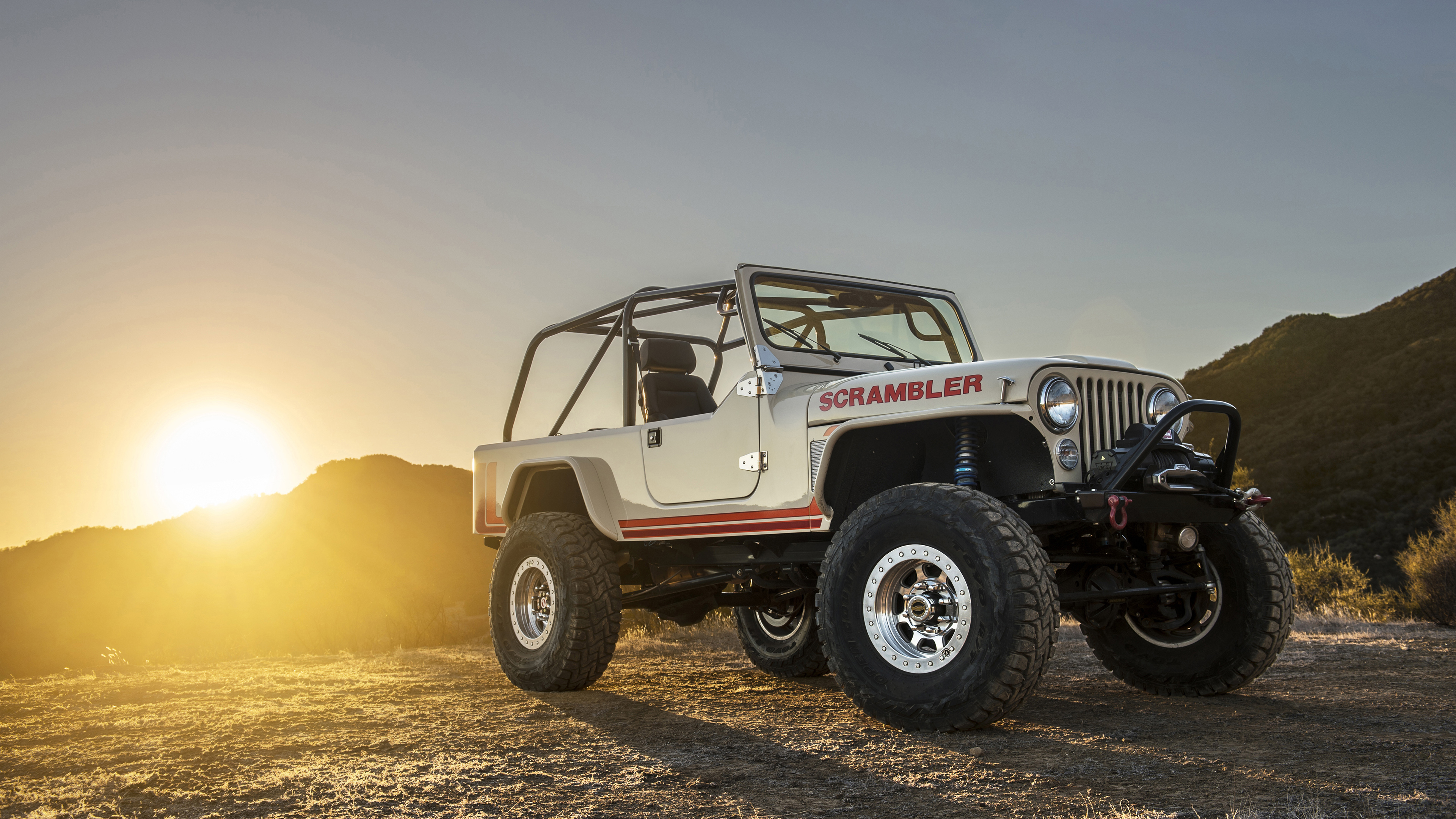Jeep Car Images Hd: Jeep CJ8 Scrambler Wallpaper