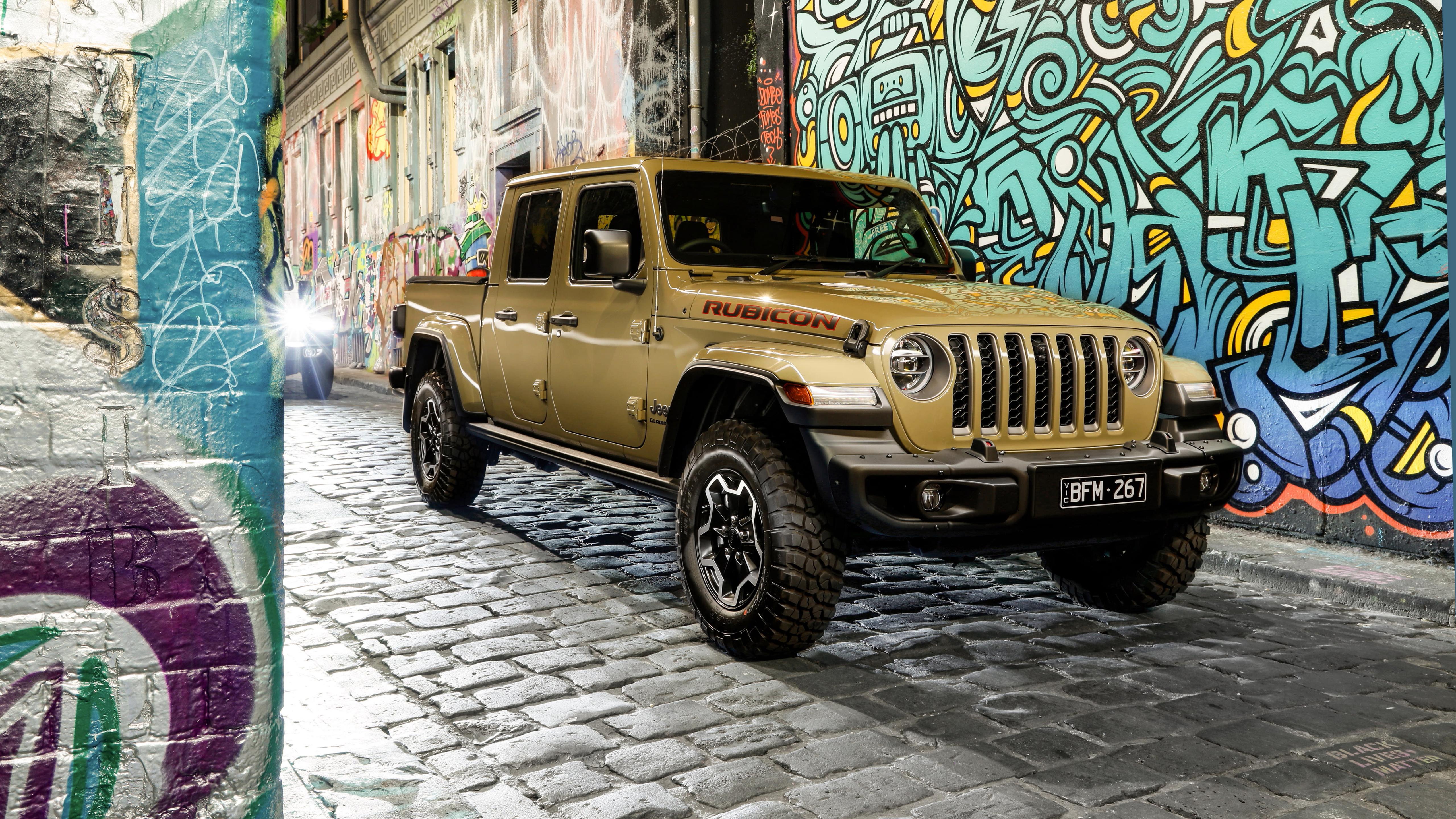 jeep gladiator rubicon 2020 5k wallpaper | hd car