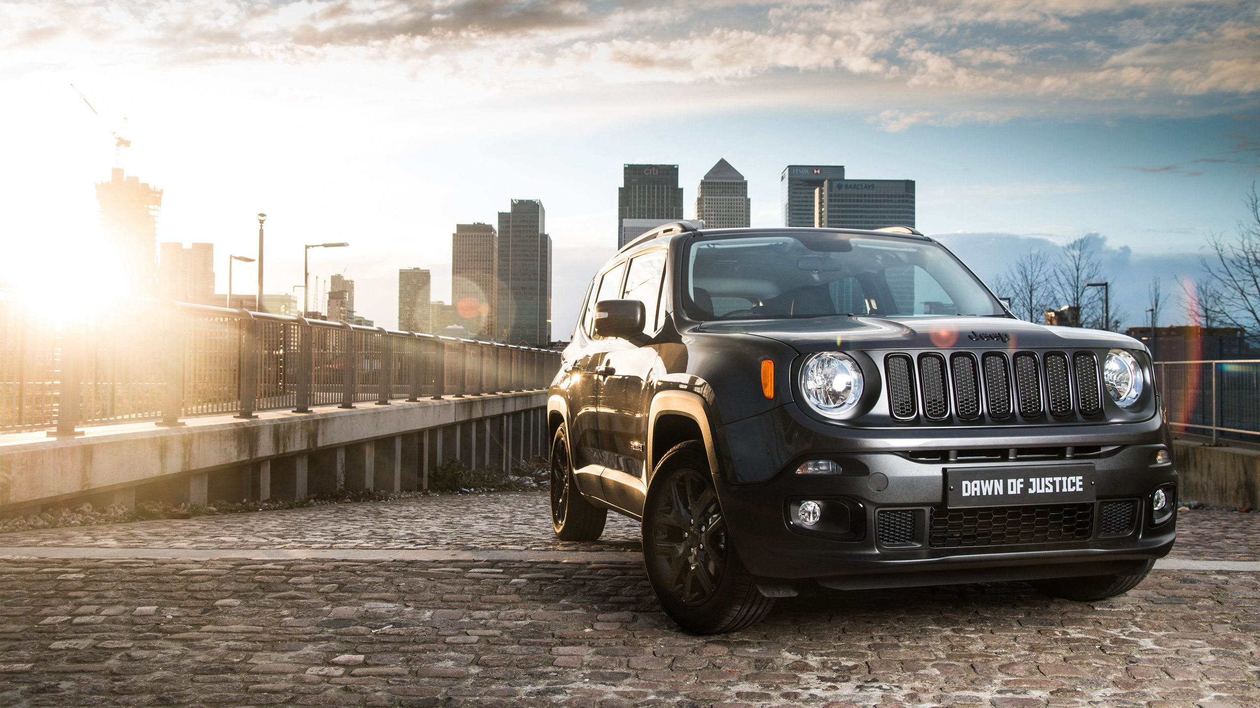 jeep renegade dawn of justice edition wallpaper | hd car wallpapers