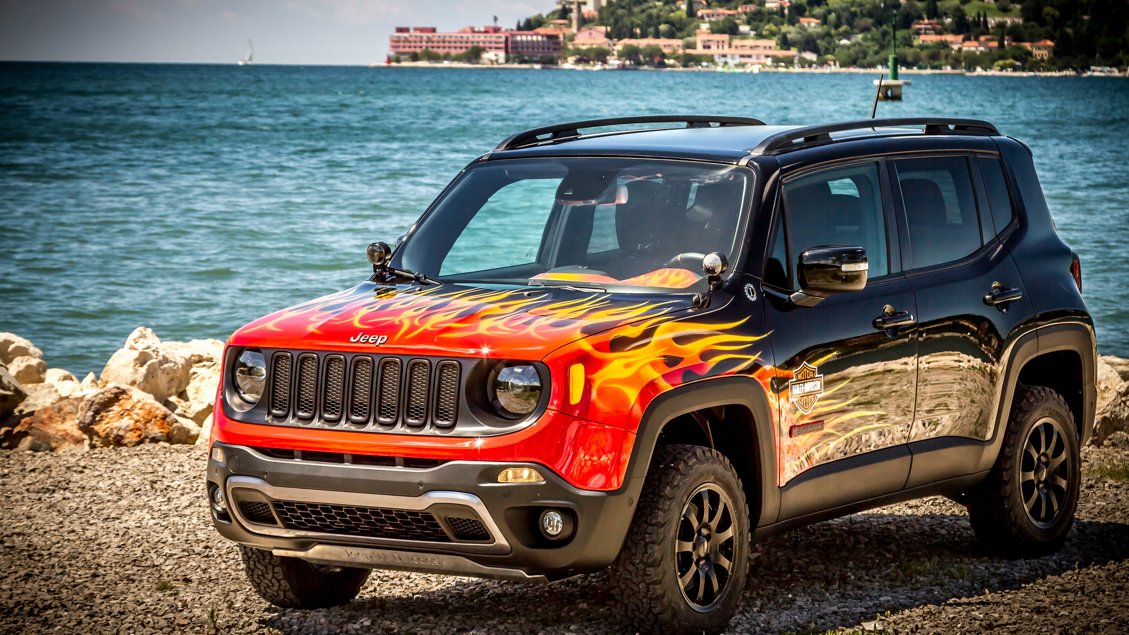 Jeep Car Images Hd: Jeep Renegade Hells Revenge 2 Wallpaper