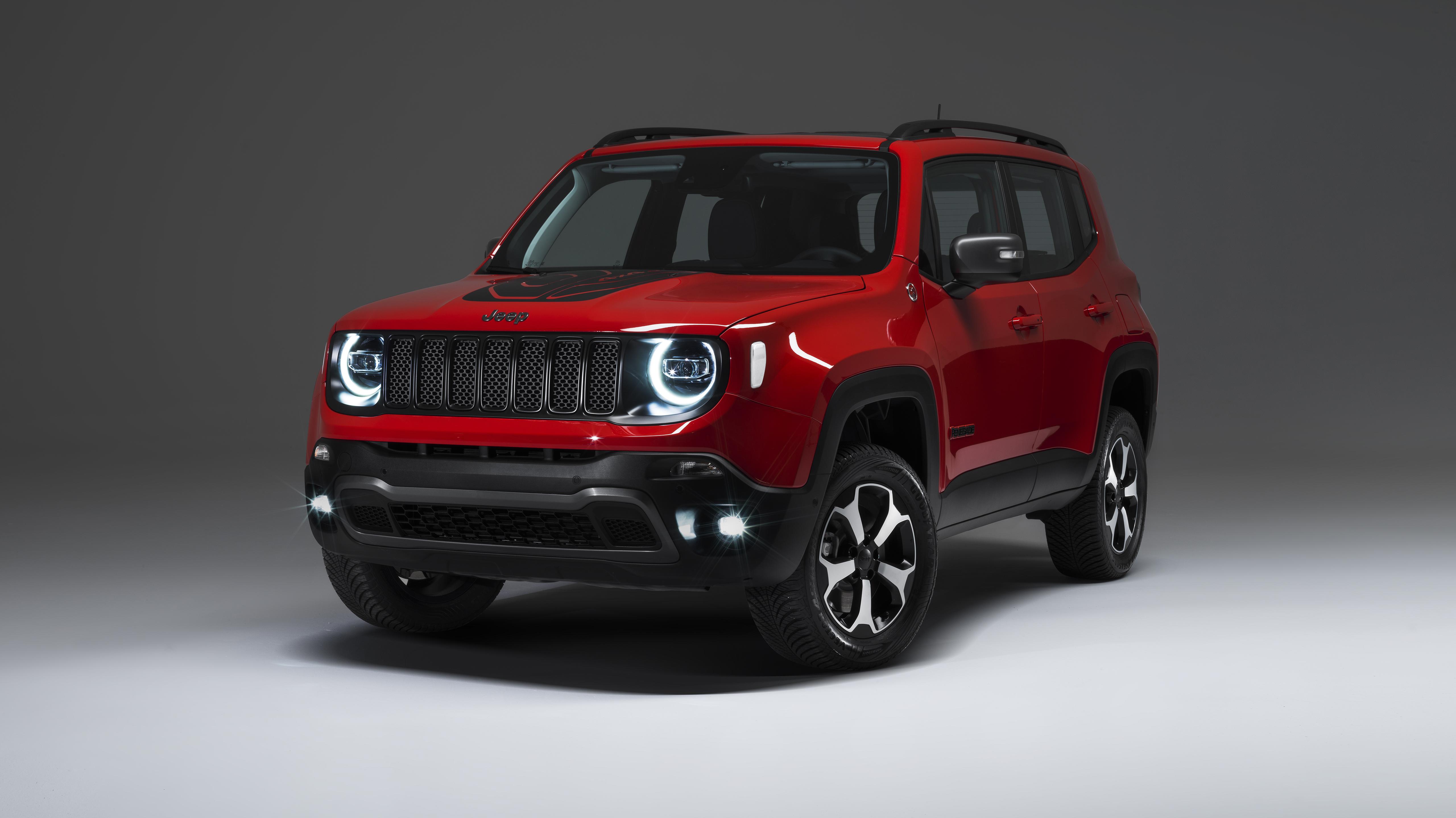 Jeep Renegade Plug in Hybrid 2019 4K Wallpaper   HD Car ...