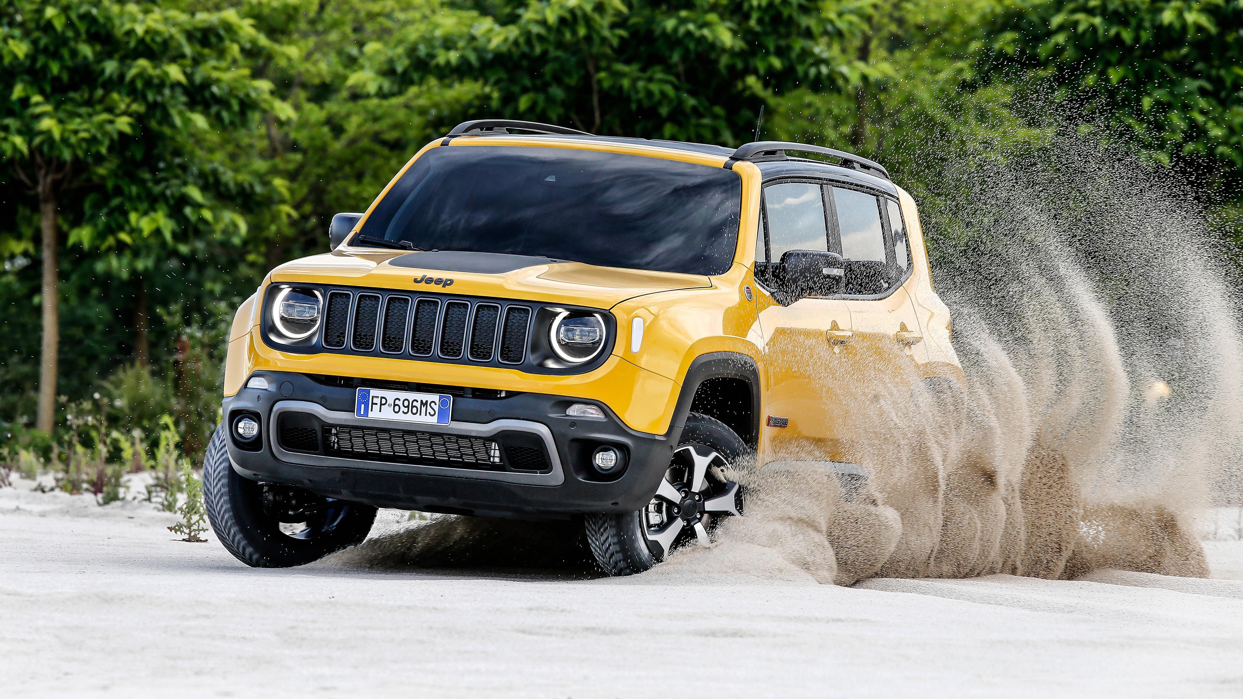 jeep renegade trailhawk 4k