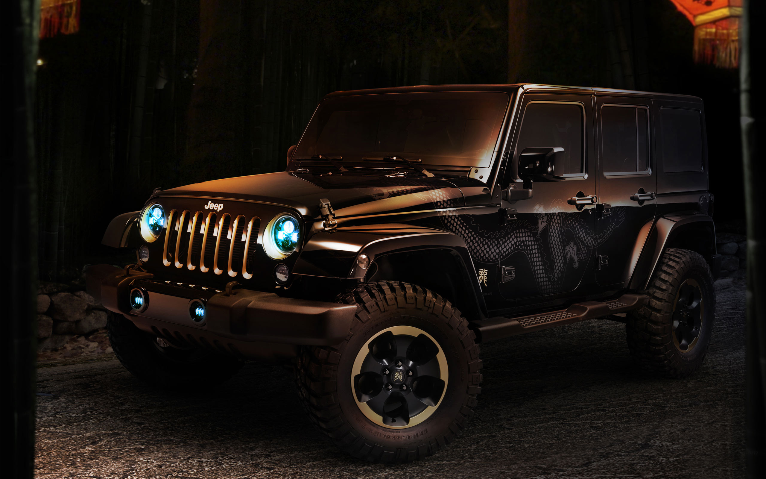 Jeep Car Images Hd: Jeep Wrangler Dragon Concept Wallpaper