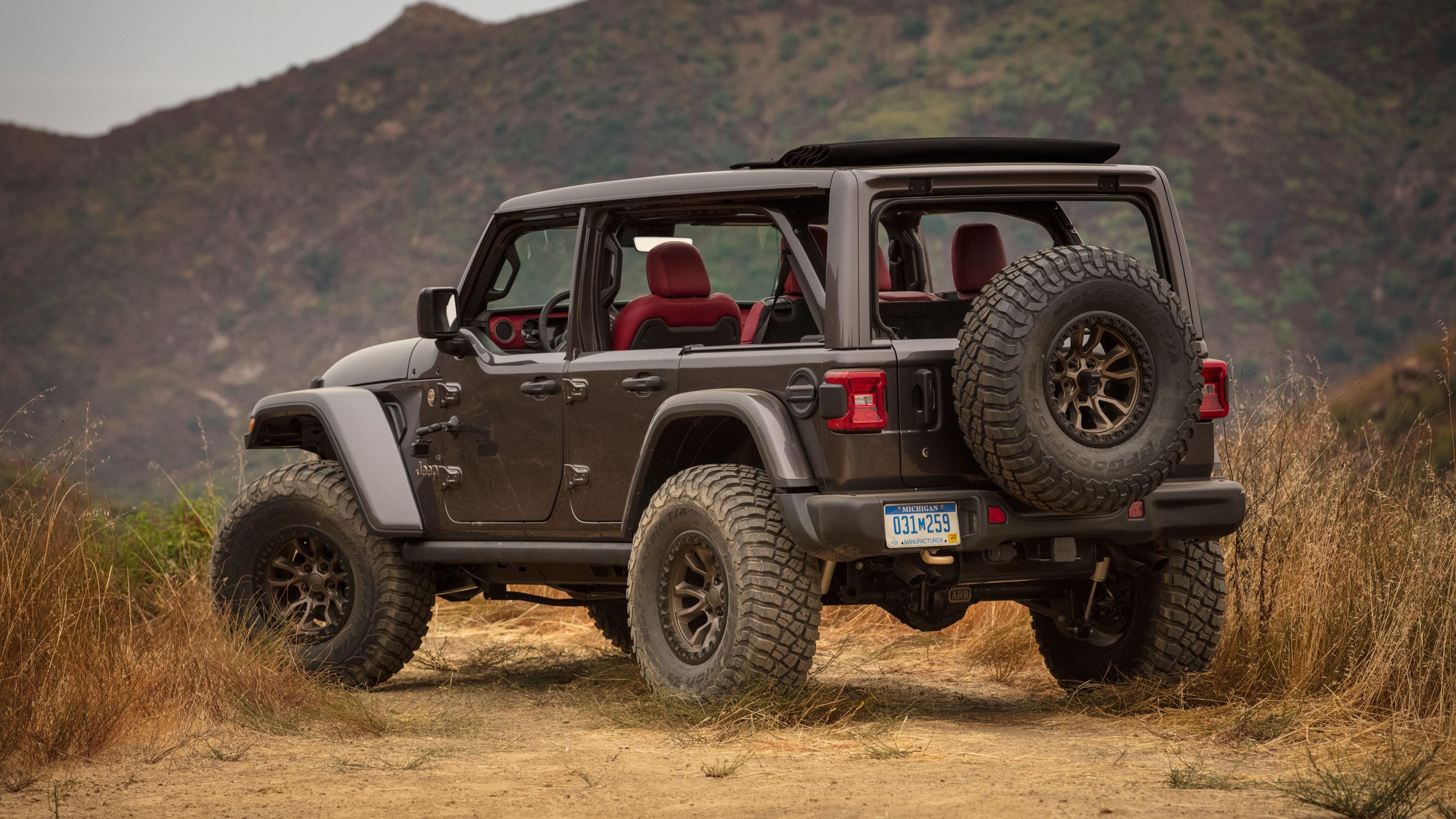 jeep wrangler rubicon 392 concept 2020 4k 2 wallpaper | hd