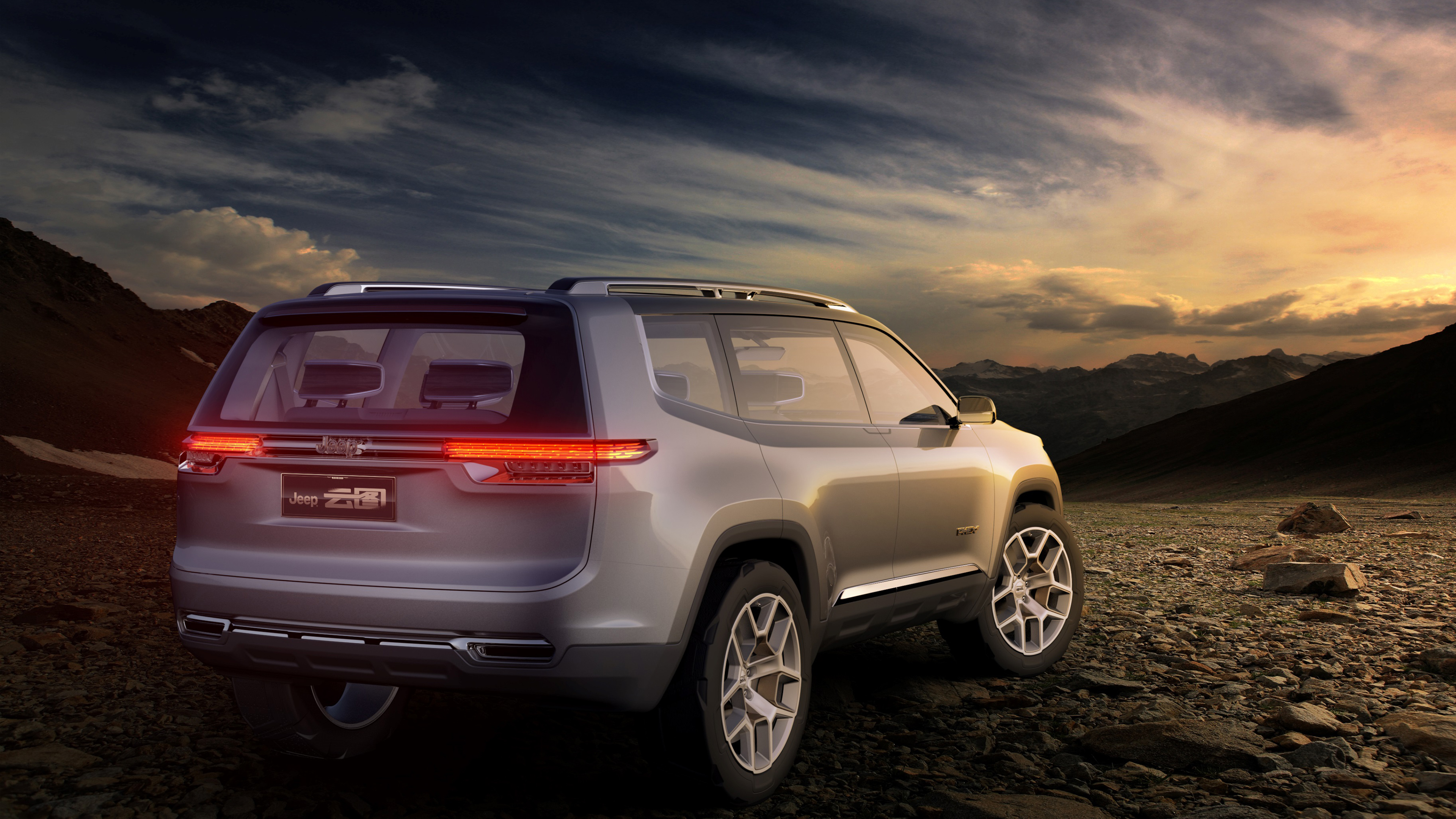 Jeep Yuntu Concept Electric SUV Wallpaper | HD Car ...