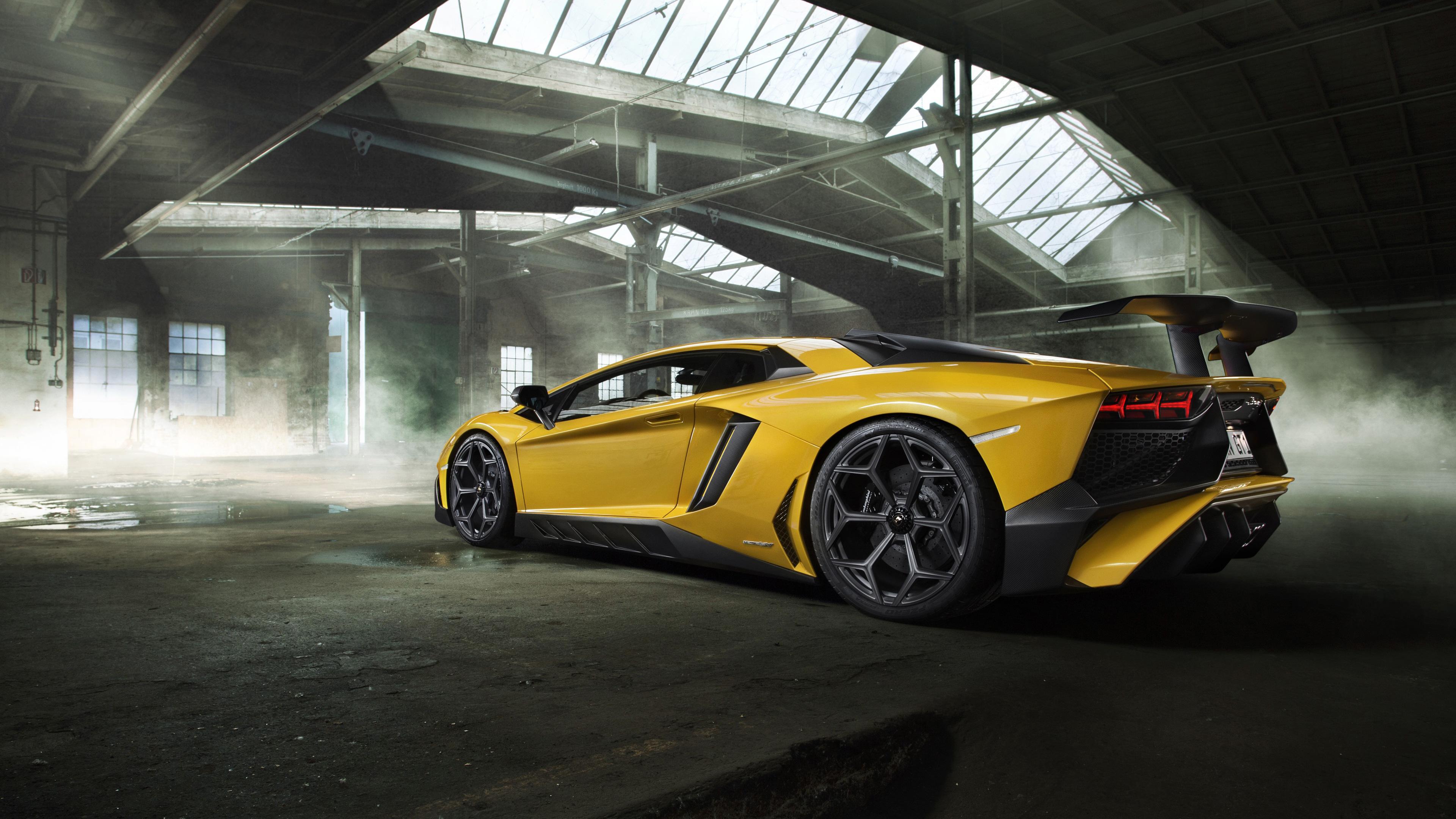 Lamborghini Aventador Lp   Superveloce Rear