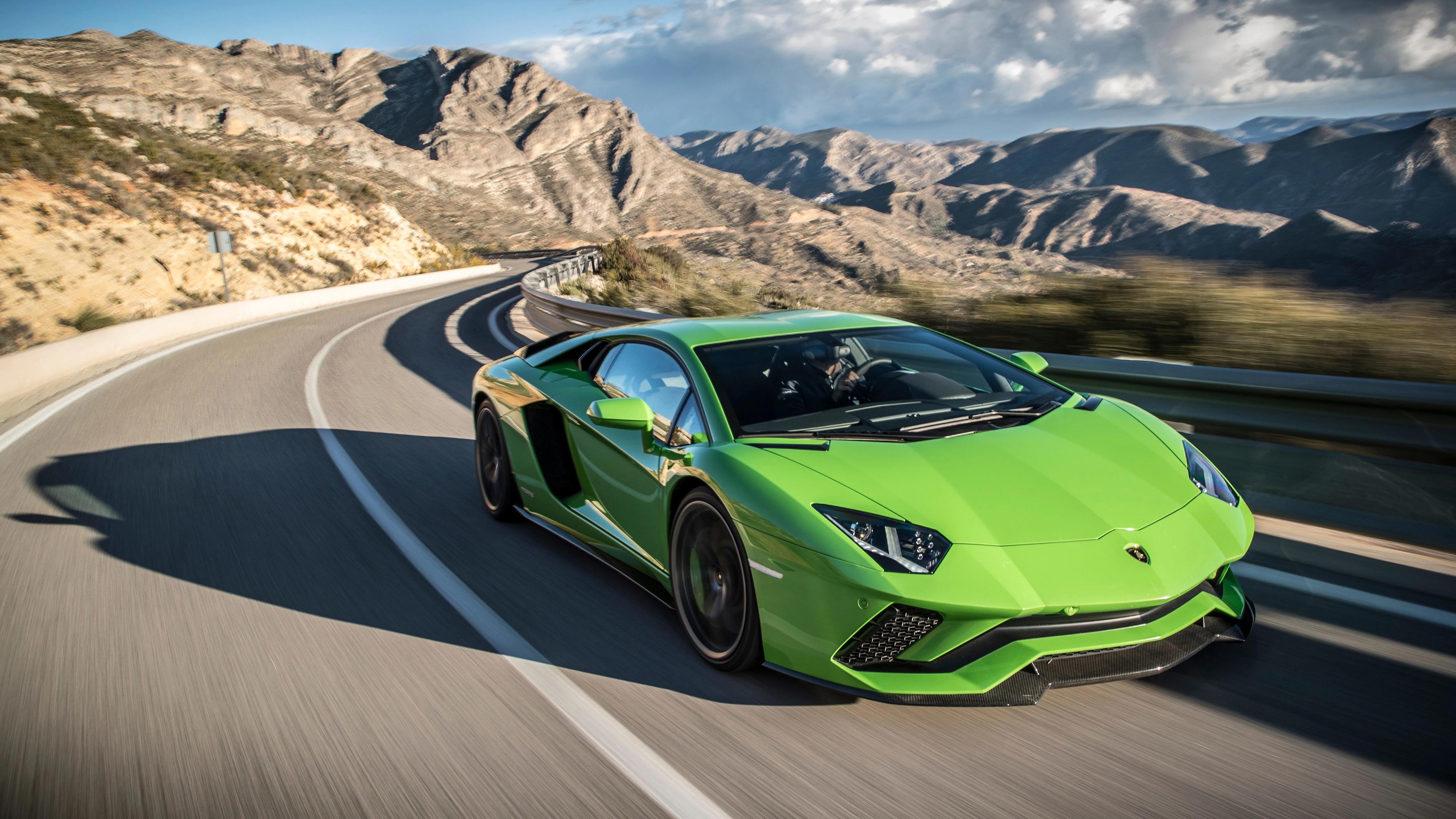 Lamborghini Aventador S 2017 4K