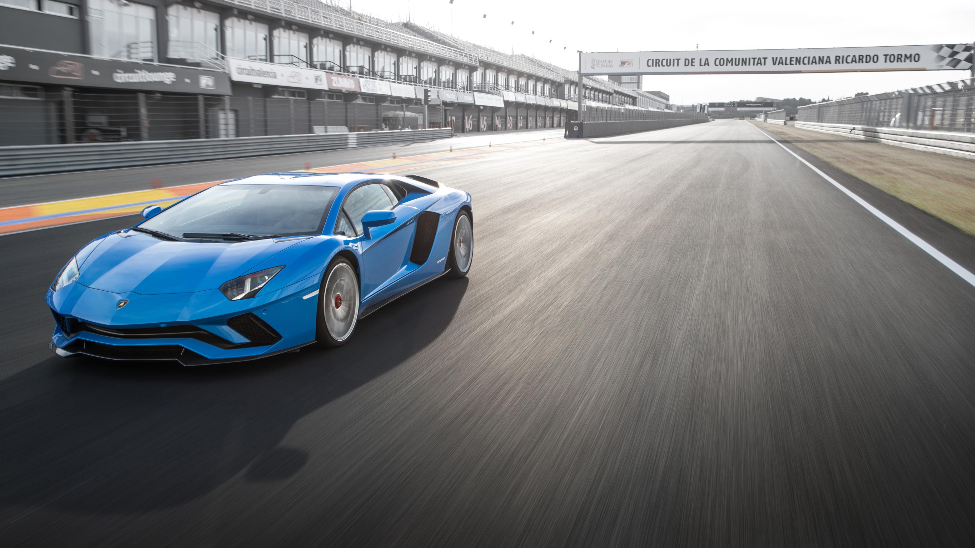 Lamborghini Aventador S 2018 4k Wallpaper Hd Car