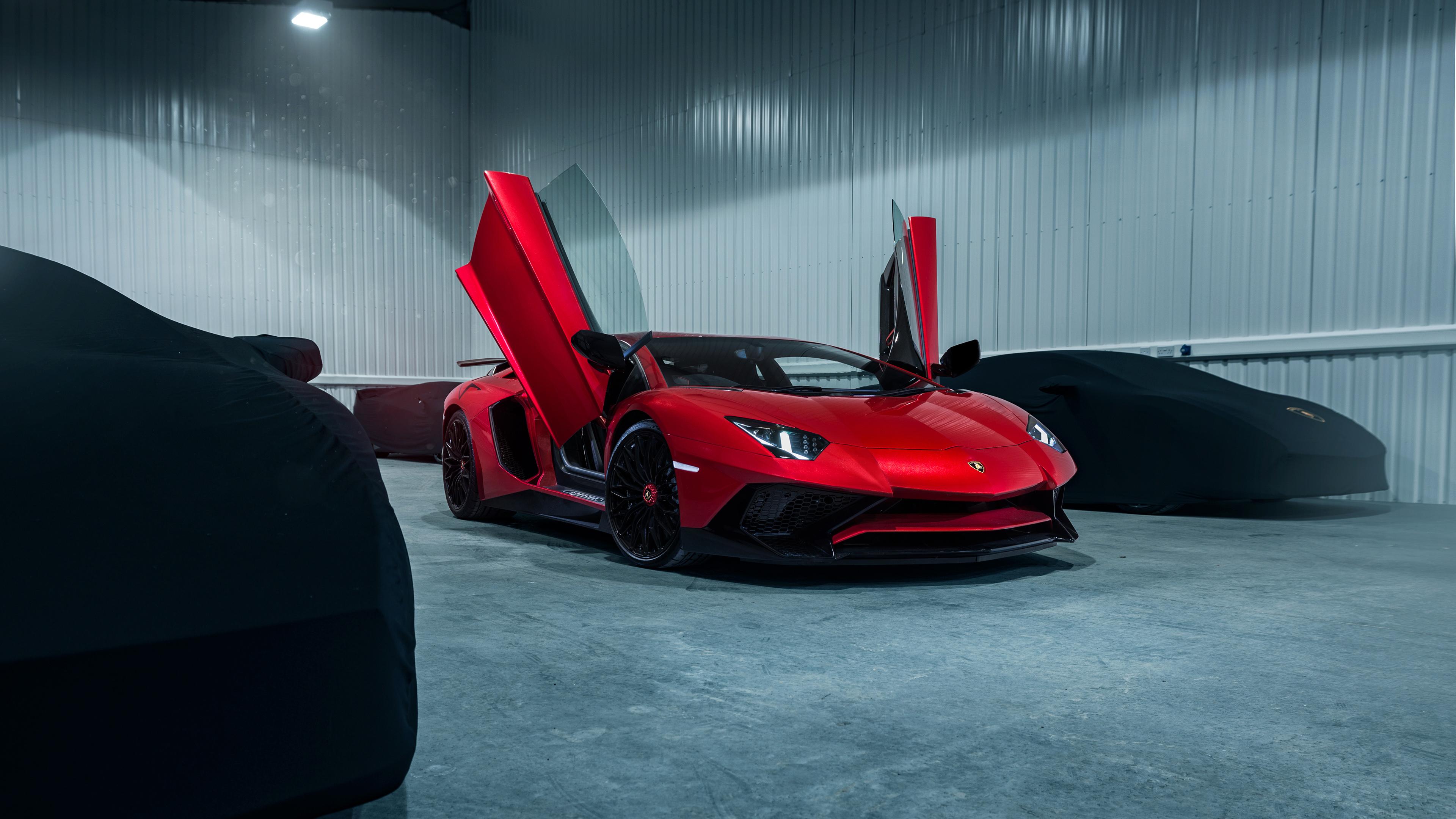 Lamborghini Aventador Sv 4k Wallpaper Hd Car Wallpapers Id 14001