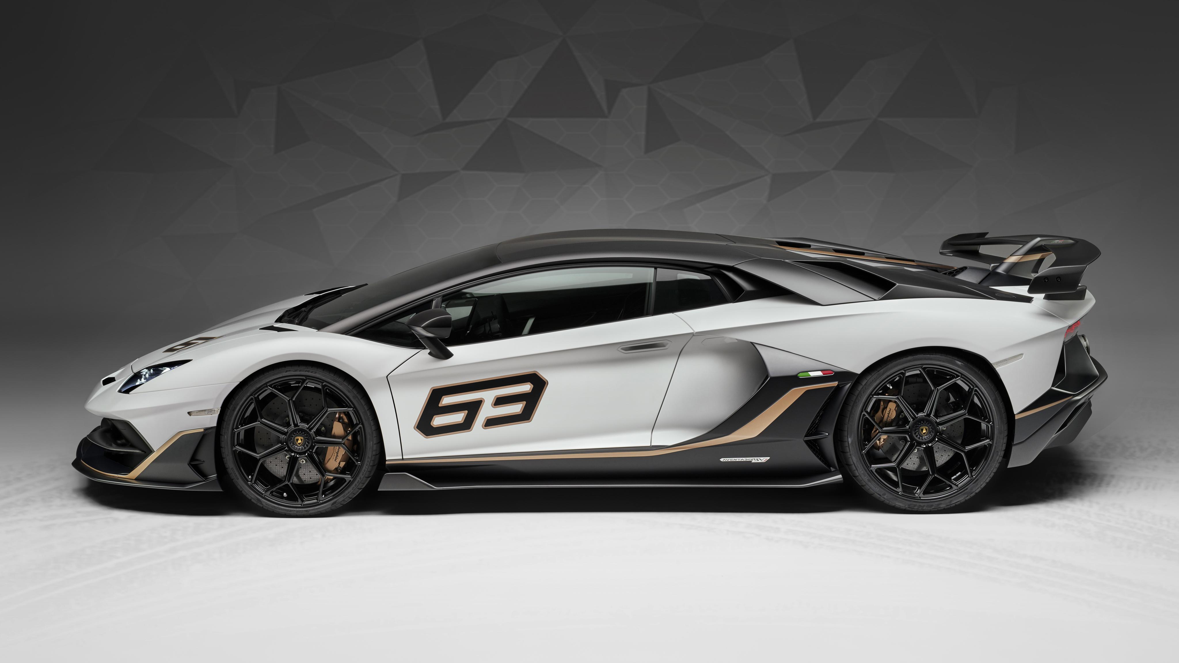 Lamborghini Aventador Svj 63 2019 4k 3 Wallpaper Hd Car Wallpapers Id 11017
