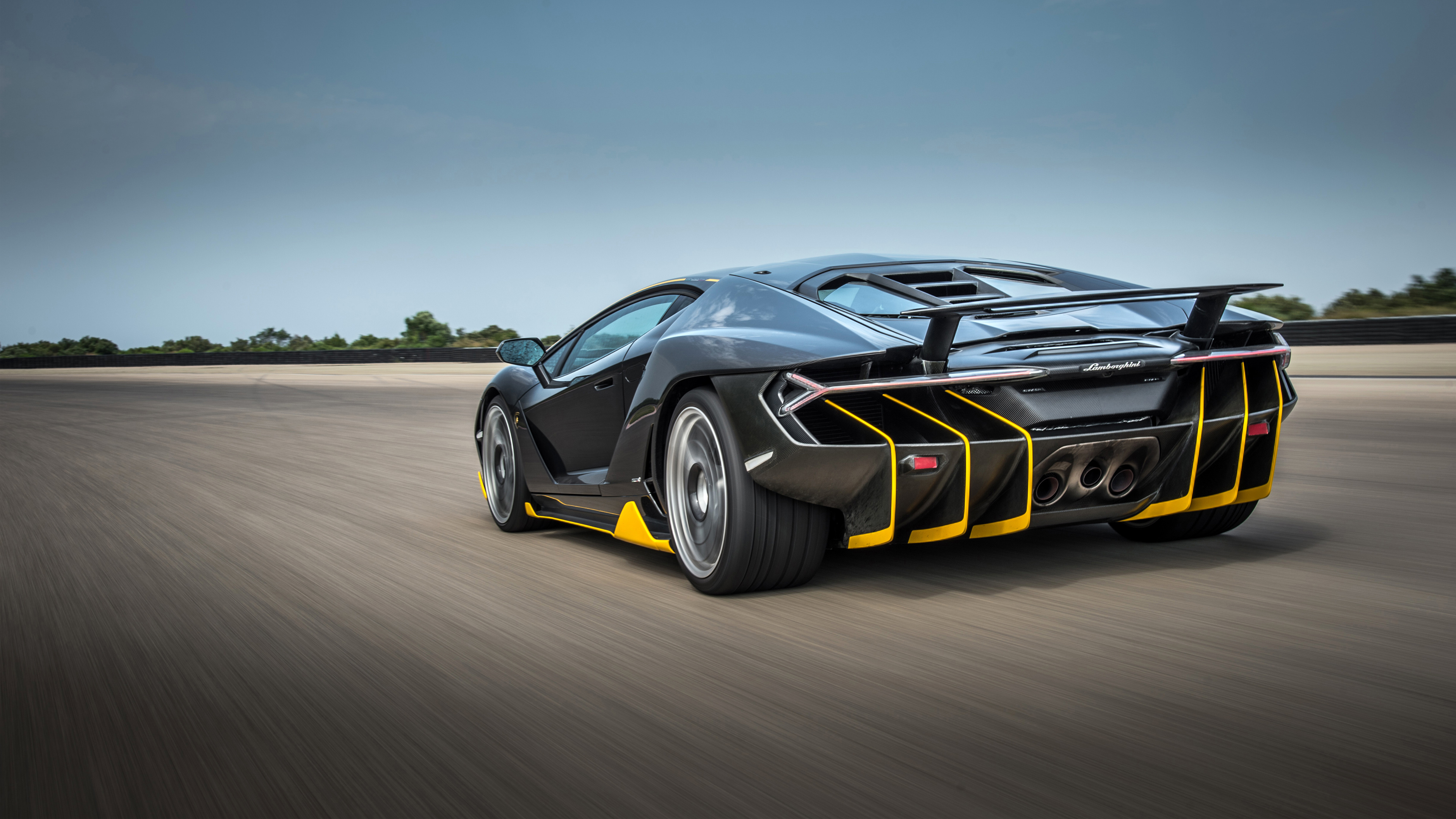Lamborghini Centenario Coupe Rear 4k Wallpaper Hd Car