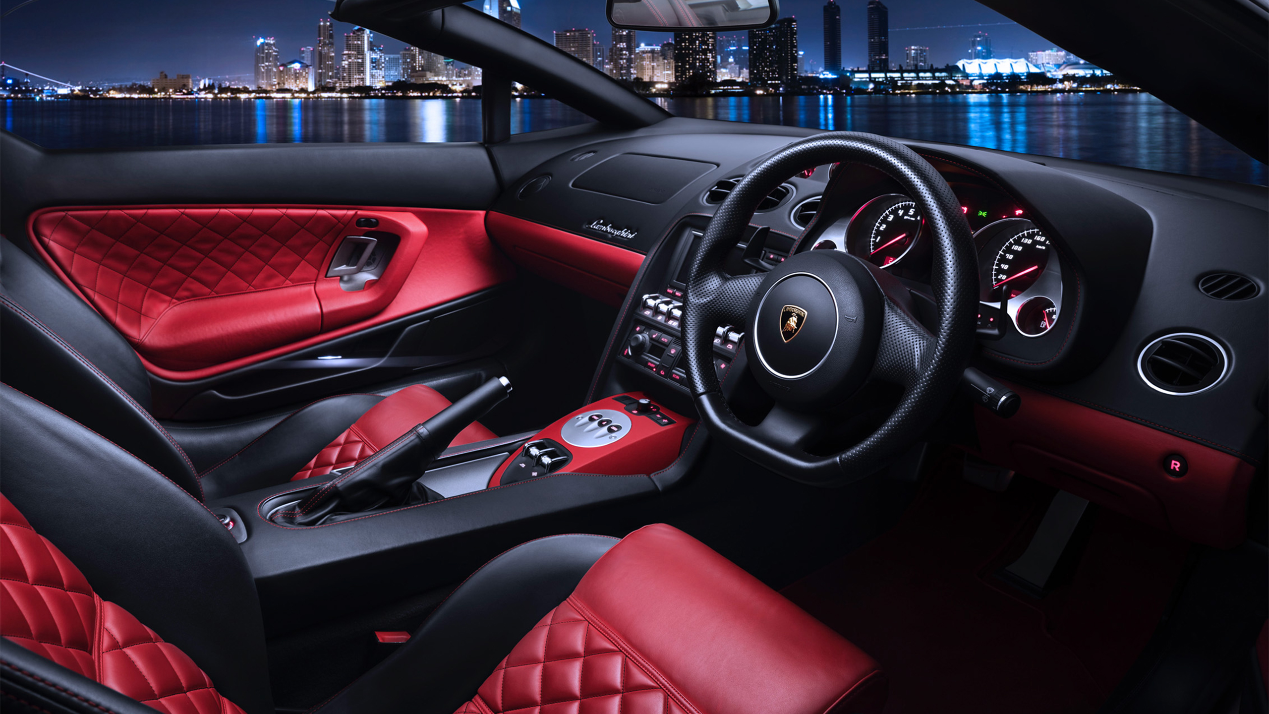 Lamborghini Gallardo Interior Wallpaper Hd Car Wallpapers Id 12510