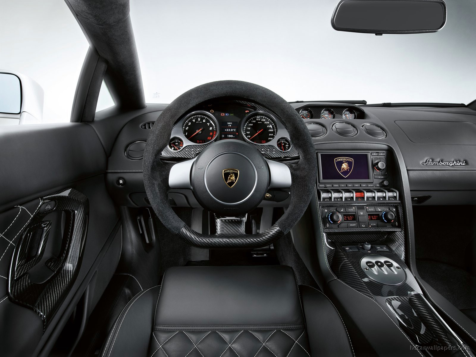 Lamborghini Gallardo LP 560 4 Interior Wallpaper | HD Car ...