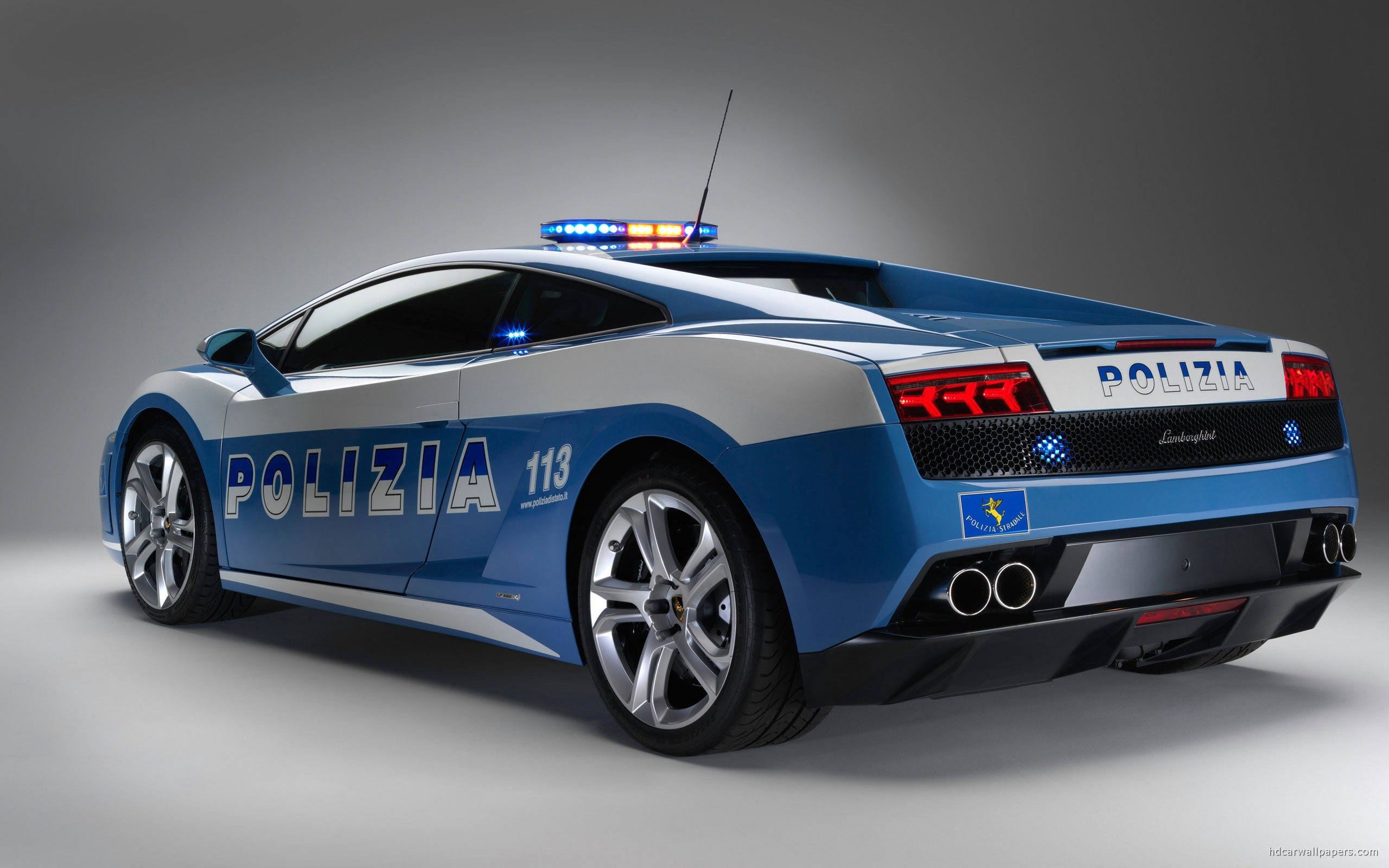 Lamborghini Gallardo Police Car Wallpaper