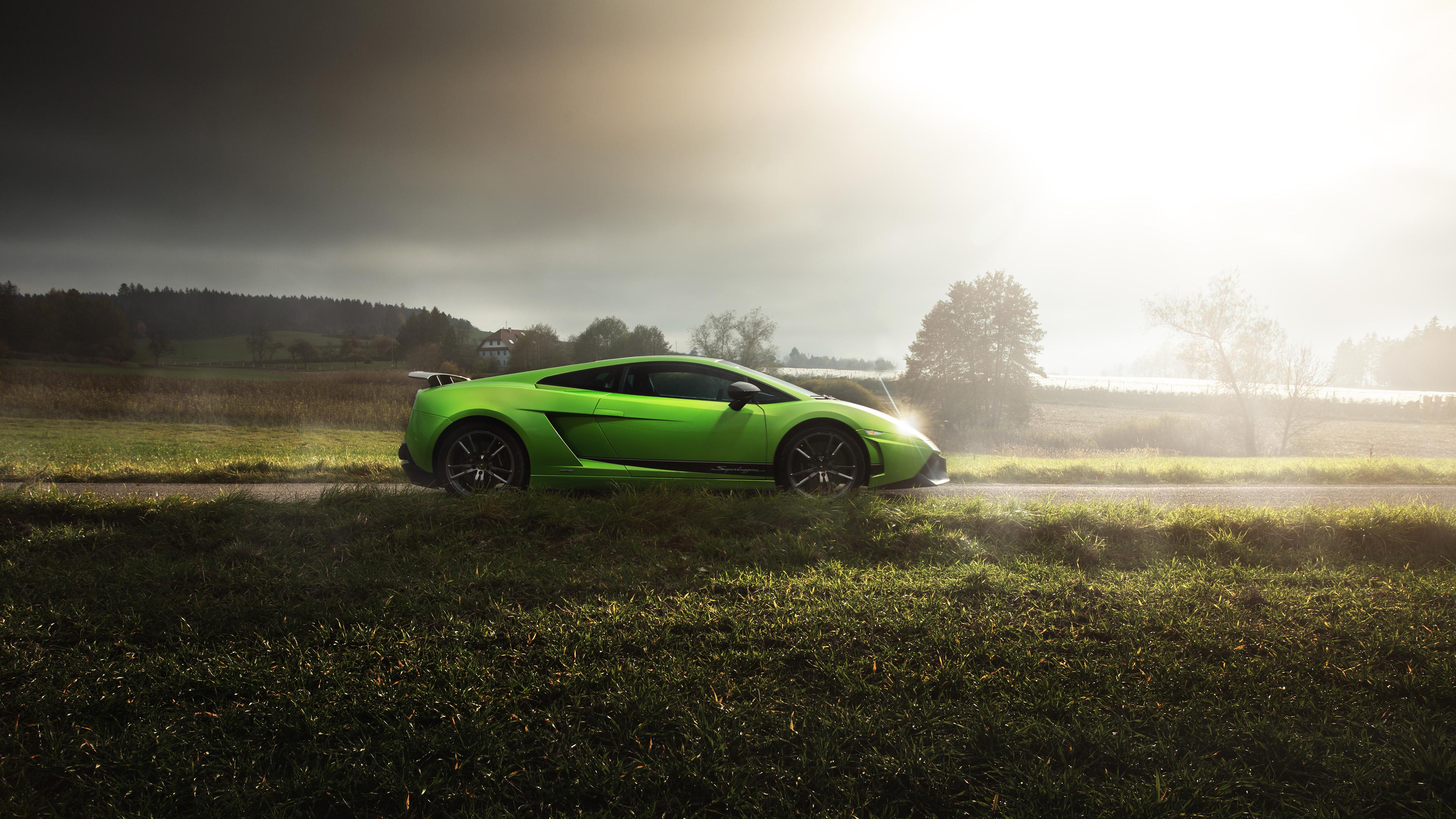 Lamborghini Gallardo LP Superleggera HD Wallpaper