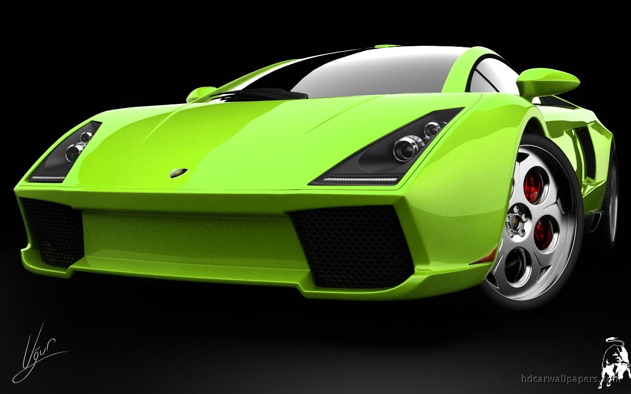 wallpaper green ferrari cars - photo #18