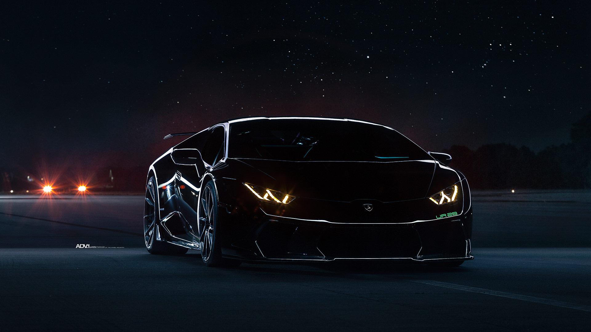 Lamborghini Huracan Black Underground Racing Twin Turbo ...