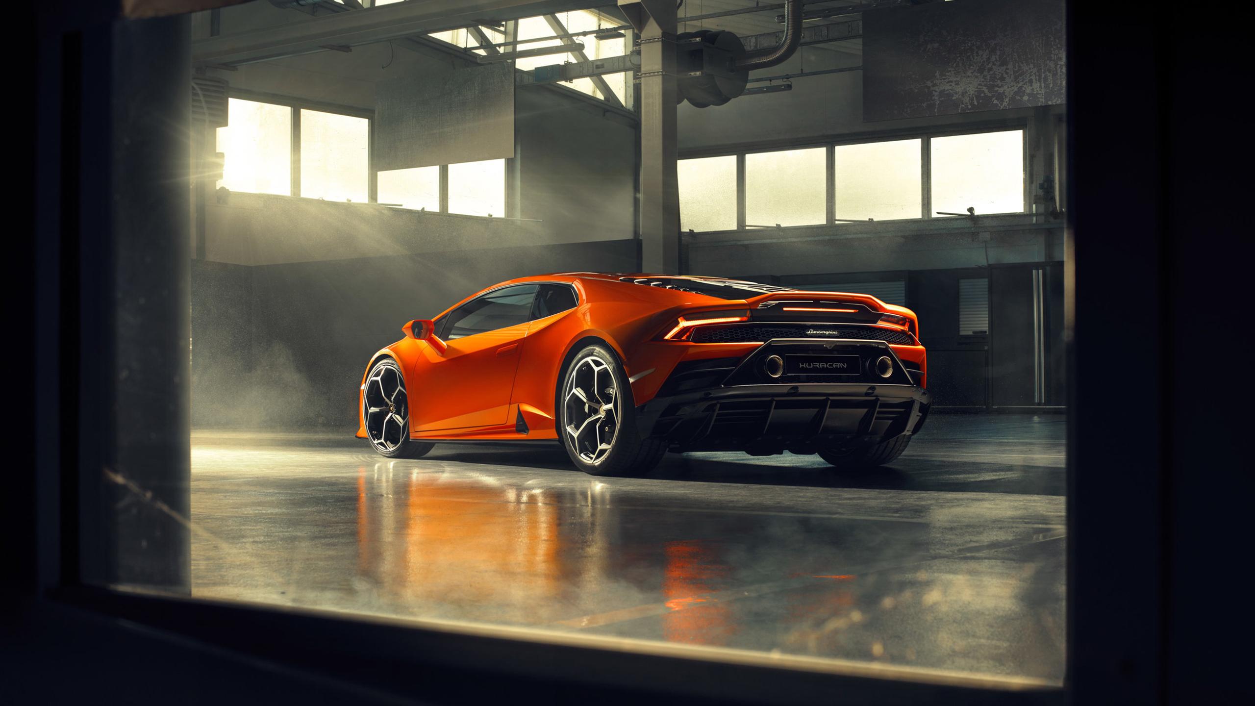Lamborghini Huracan EVO 2019 4K 2 Wallpaper | HD Car Wallpapers | ID #11878