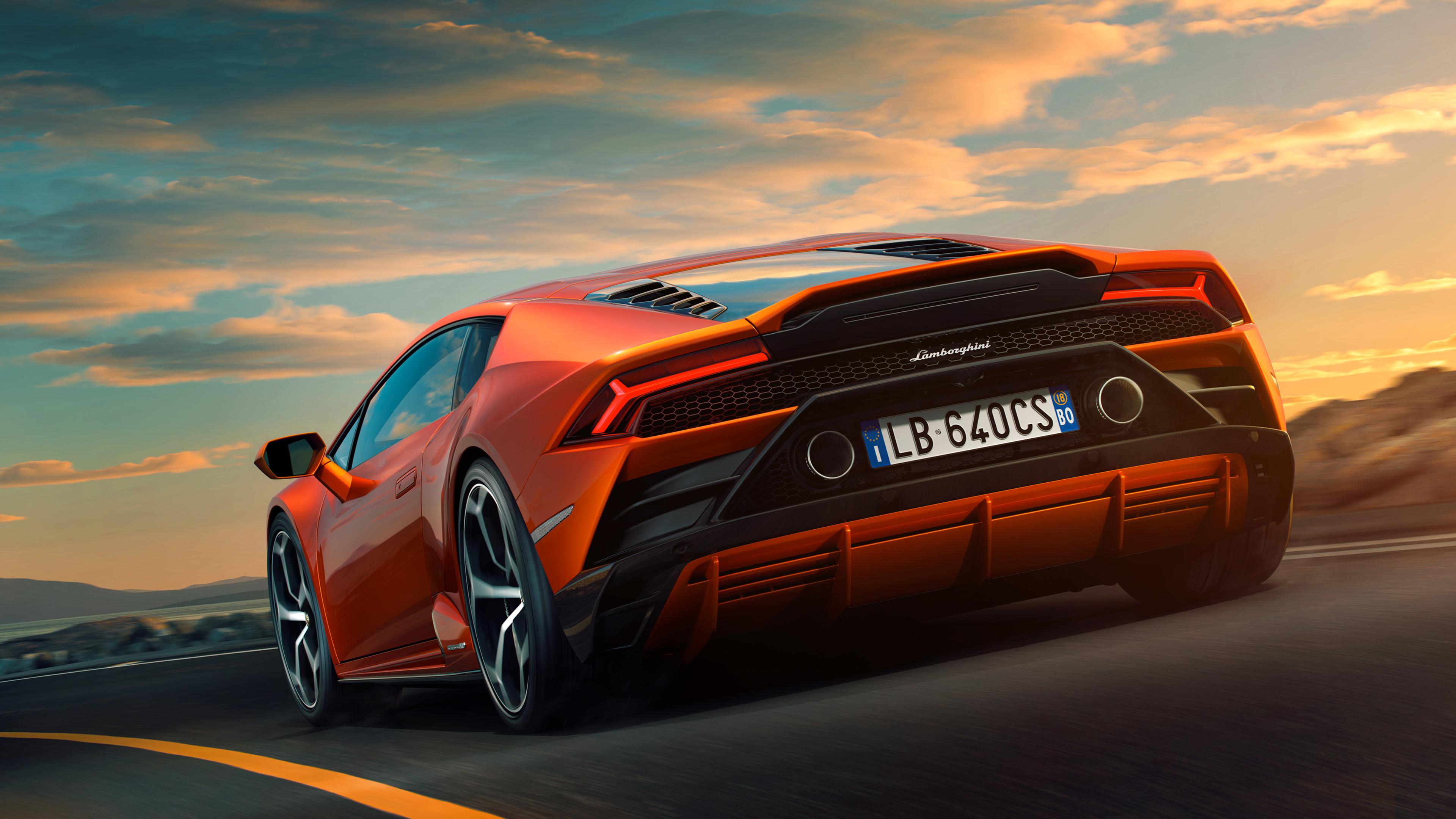 Lamborghini Huracan Evo 2019 4k 5 Wallpaper Hd Car