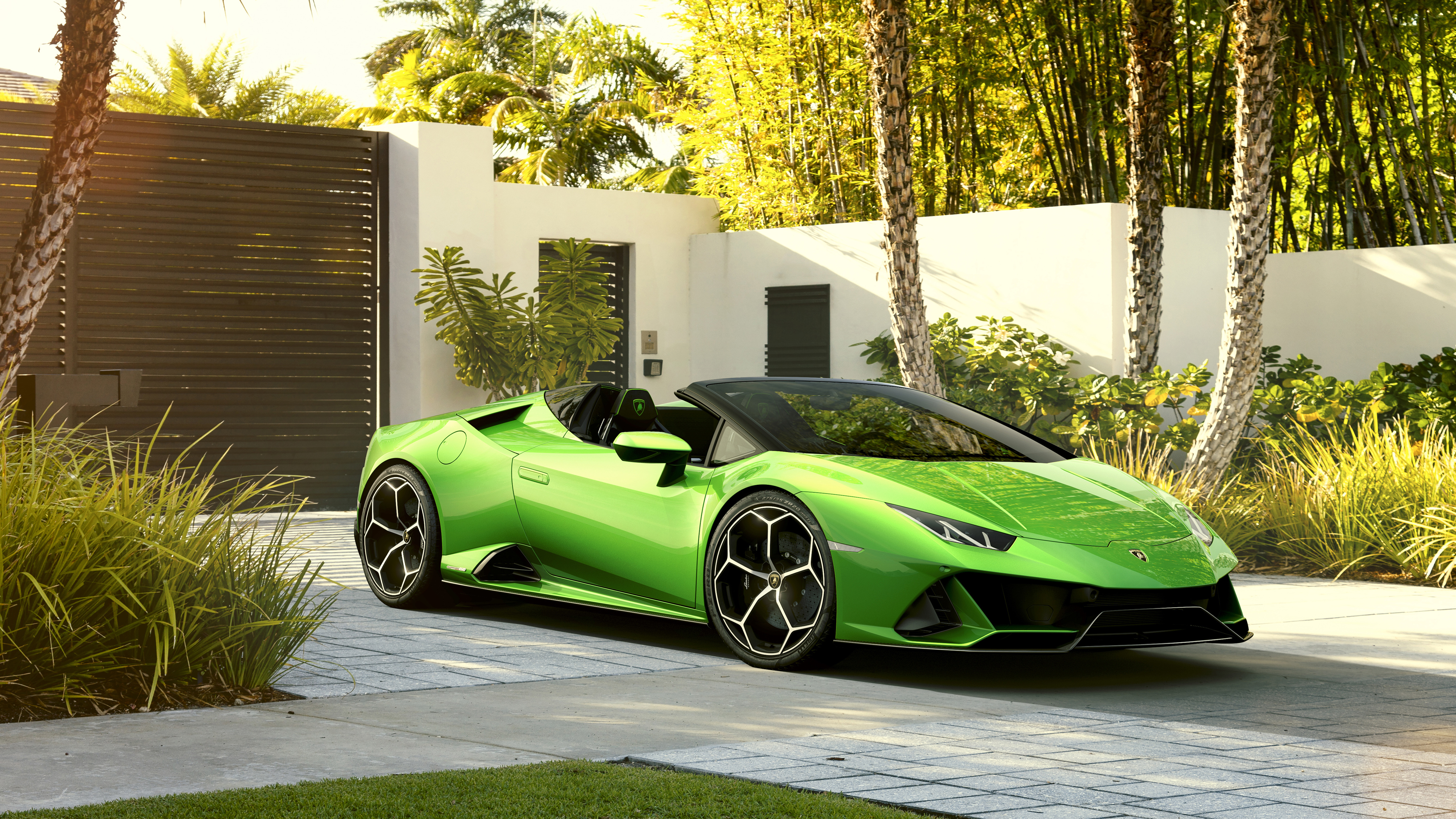 Lamborghini Huracan Evo Spyder 2019 5k 10 Wallpaper Hd Car