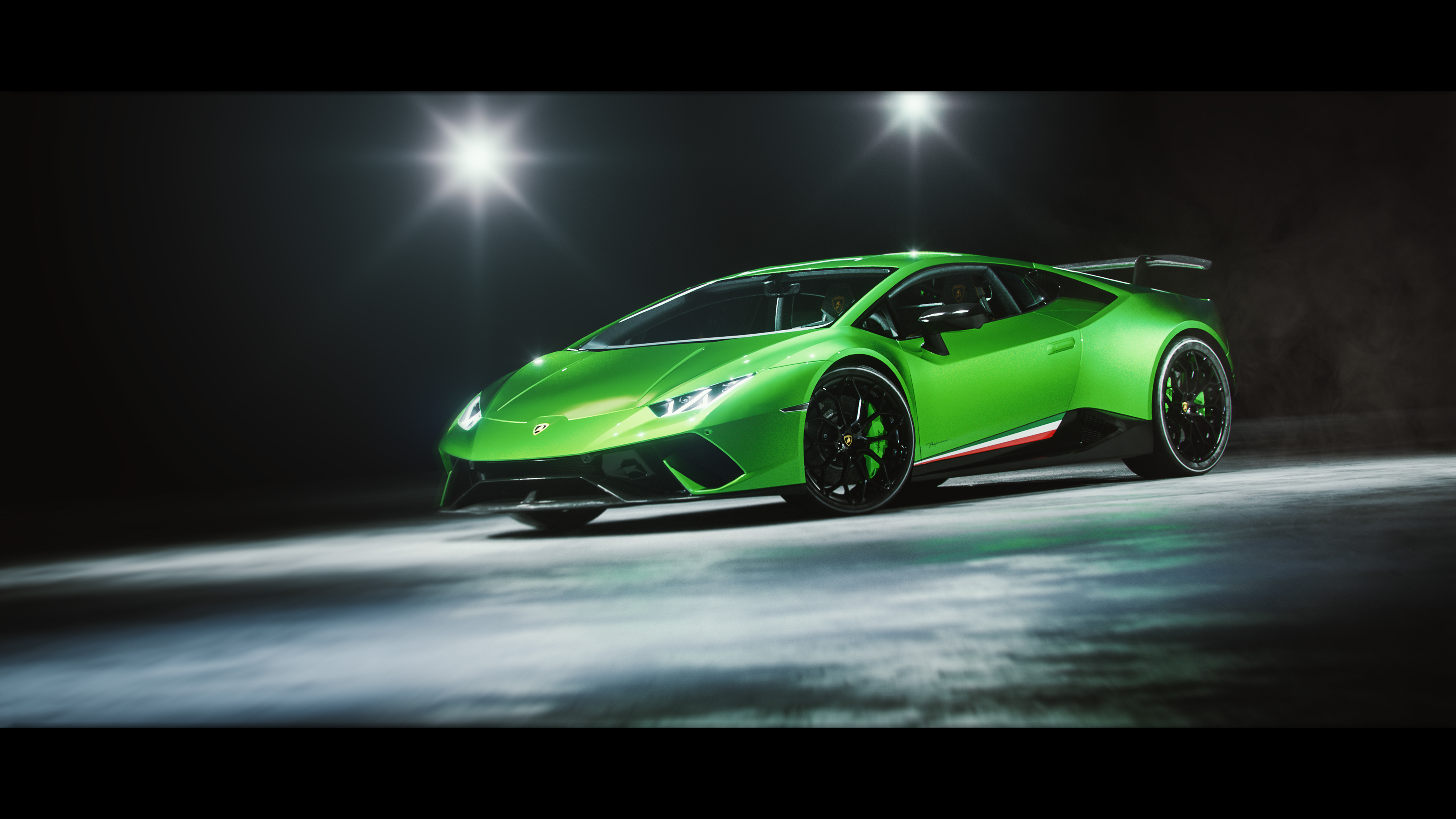 Lamborghini Huracan Performante 4K Wallpaper
