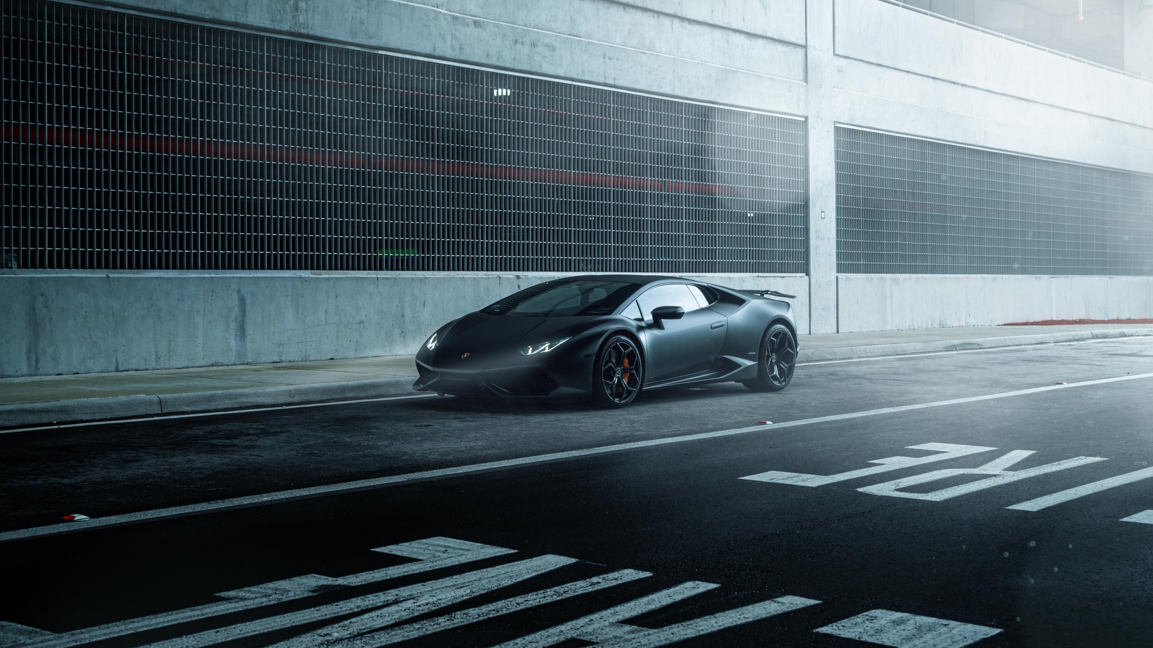 lamborghini_huracan_vellano_mc_matte_black-HD Exciting Lamborghini Huracán Lp 610-4 Cena Cars Trend