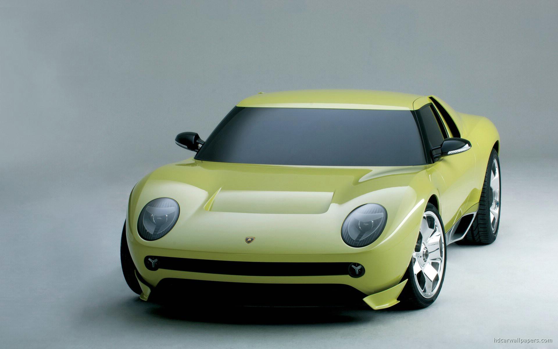 Lamborghini Miura Concept Wallpaper Hd Car Wallpapers Id 927