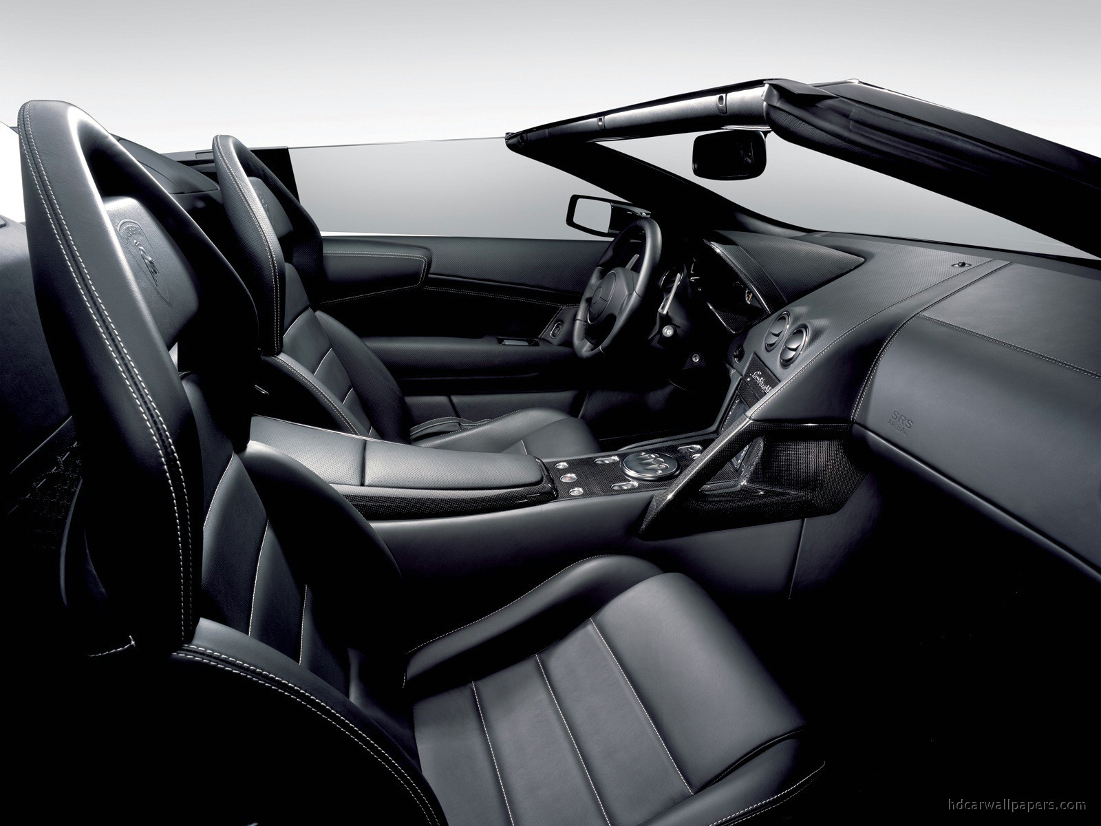 Lamborghini Murcielago Lp640 Roadster Interior Wallpaper Hd Car