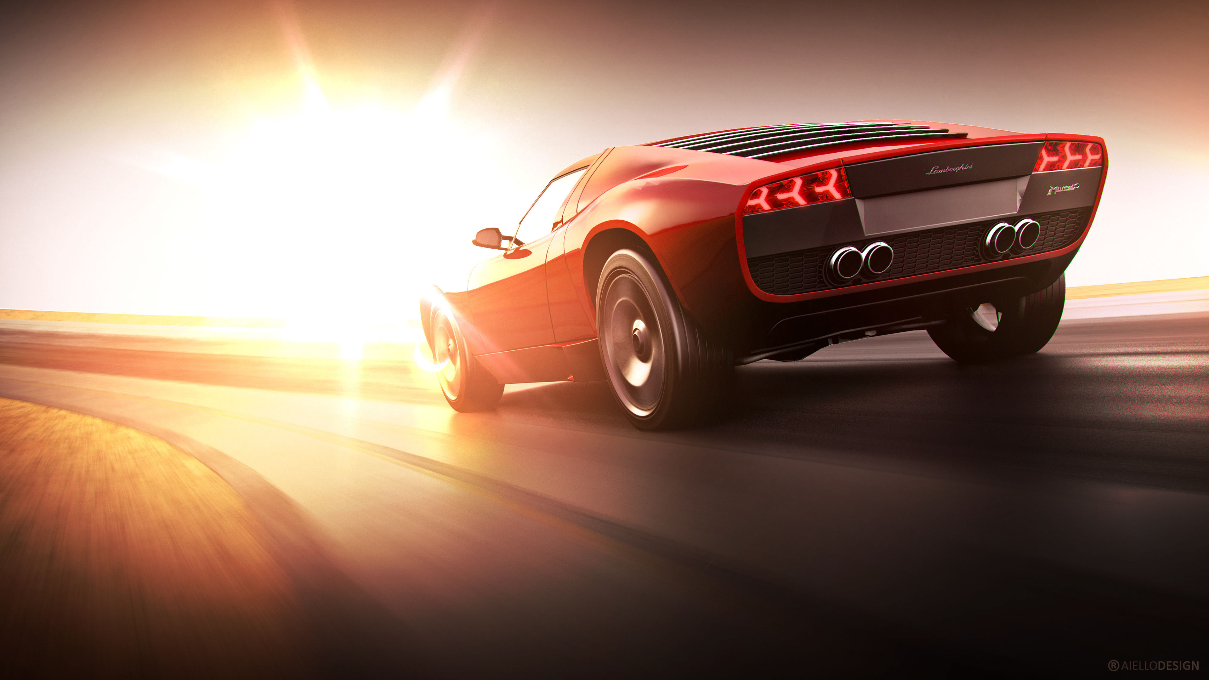 Lamborghini Racing CGI Wallpaper | HD Car Wallpapers | ID ...